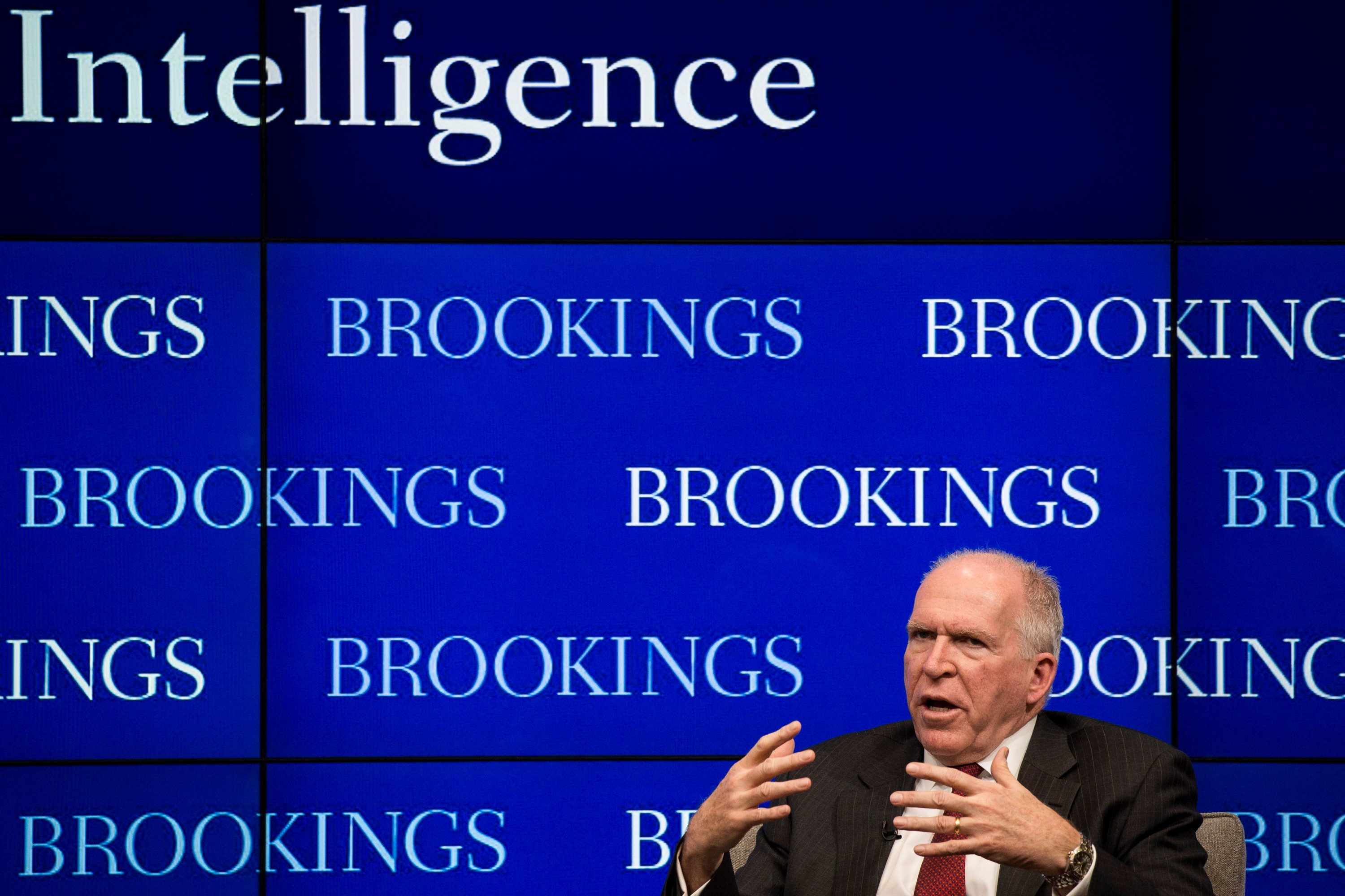 CIA Director John Brennan at the Brookings Institution