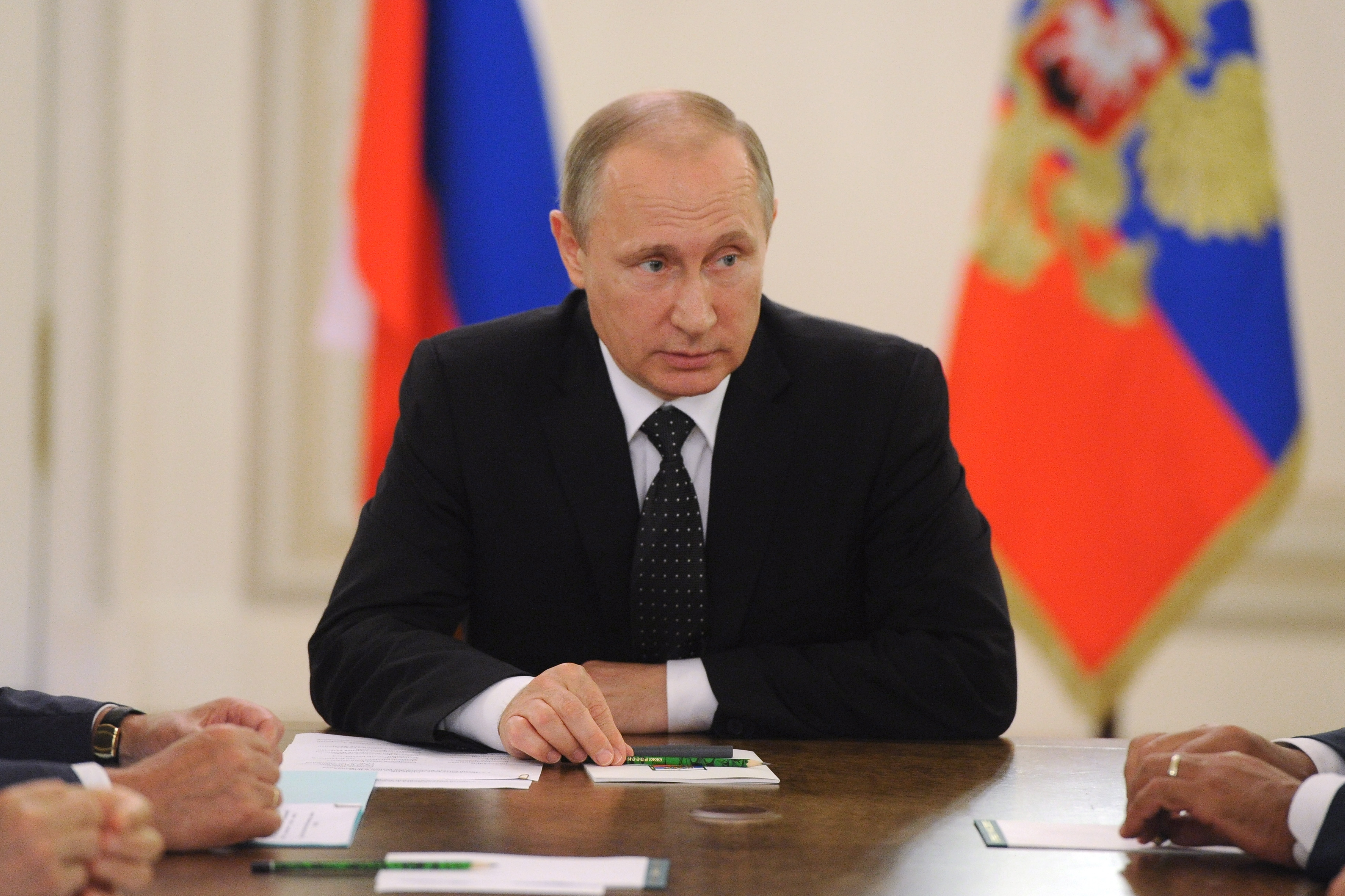 President Vladimir Putin chairs Russian Security Council meeting