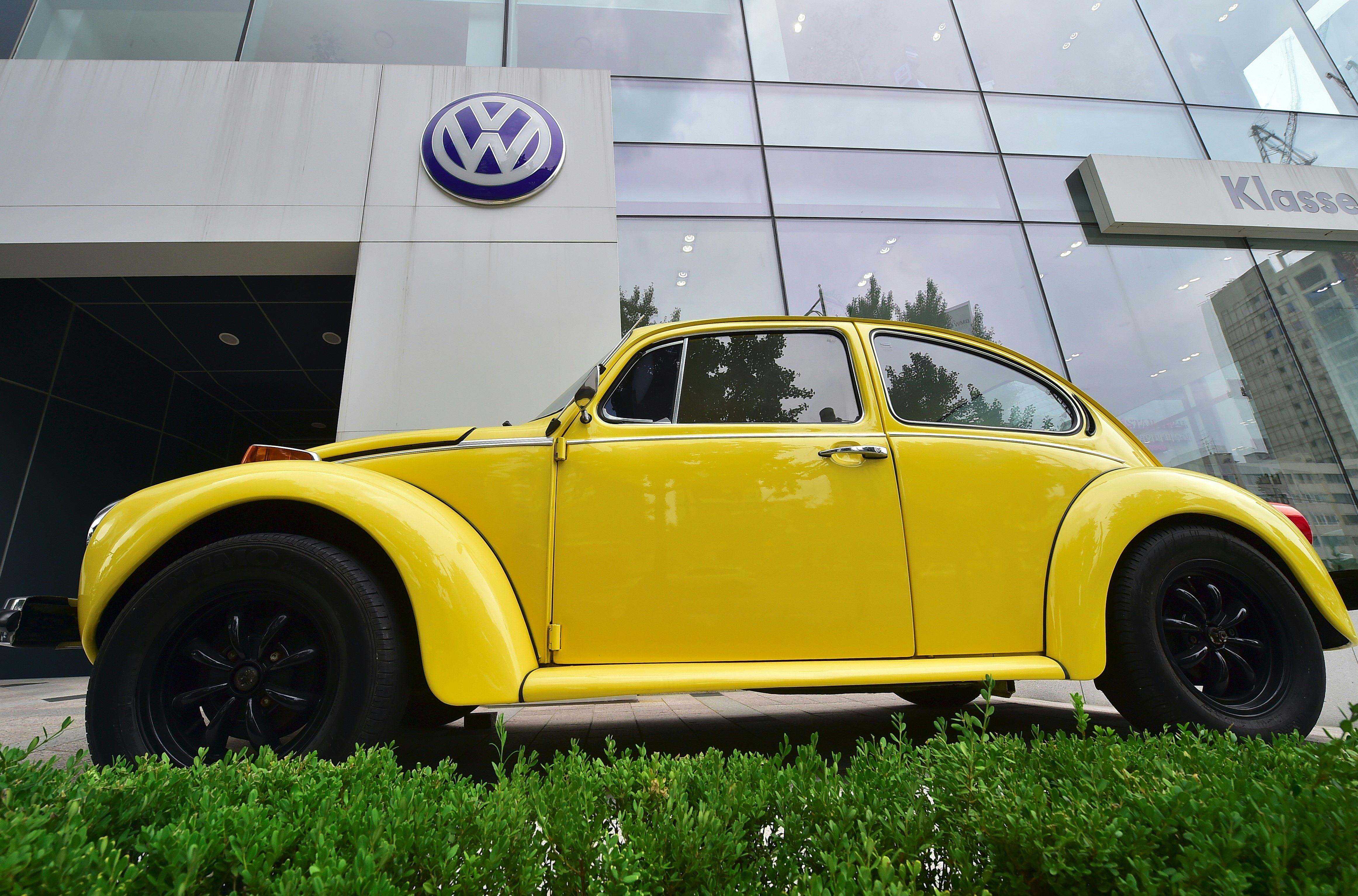 SKOREA-GERMANY-AUTOMOBILE-VOLKSWAGEN-FRAUD
