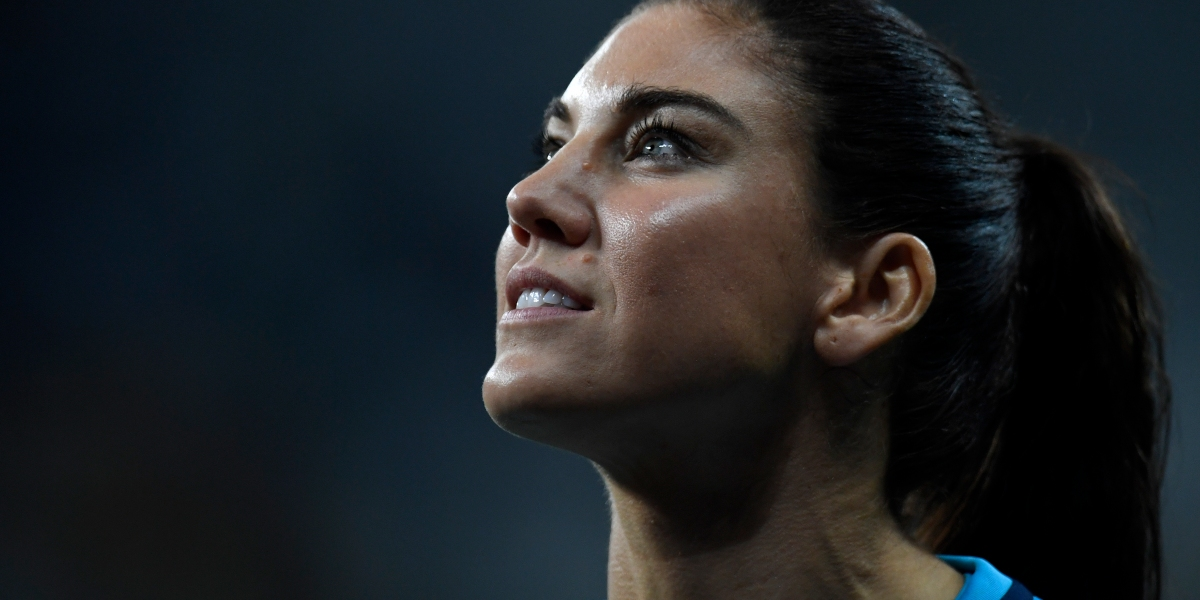 Why Does Hope Solo Get Punished For Things Male Athletes Do All the Time?