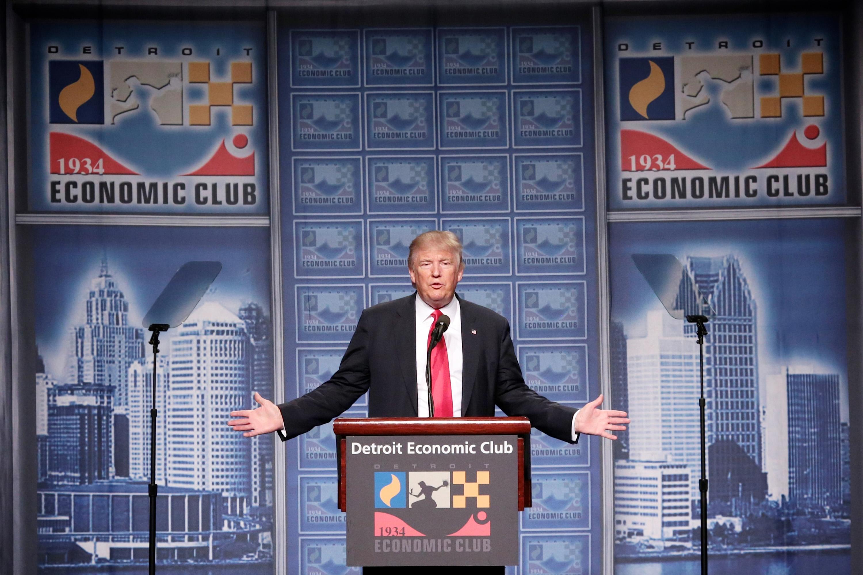 Detroit economy spech offers potential risks, rewards for Donald Trump