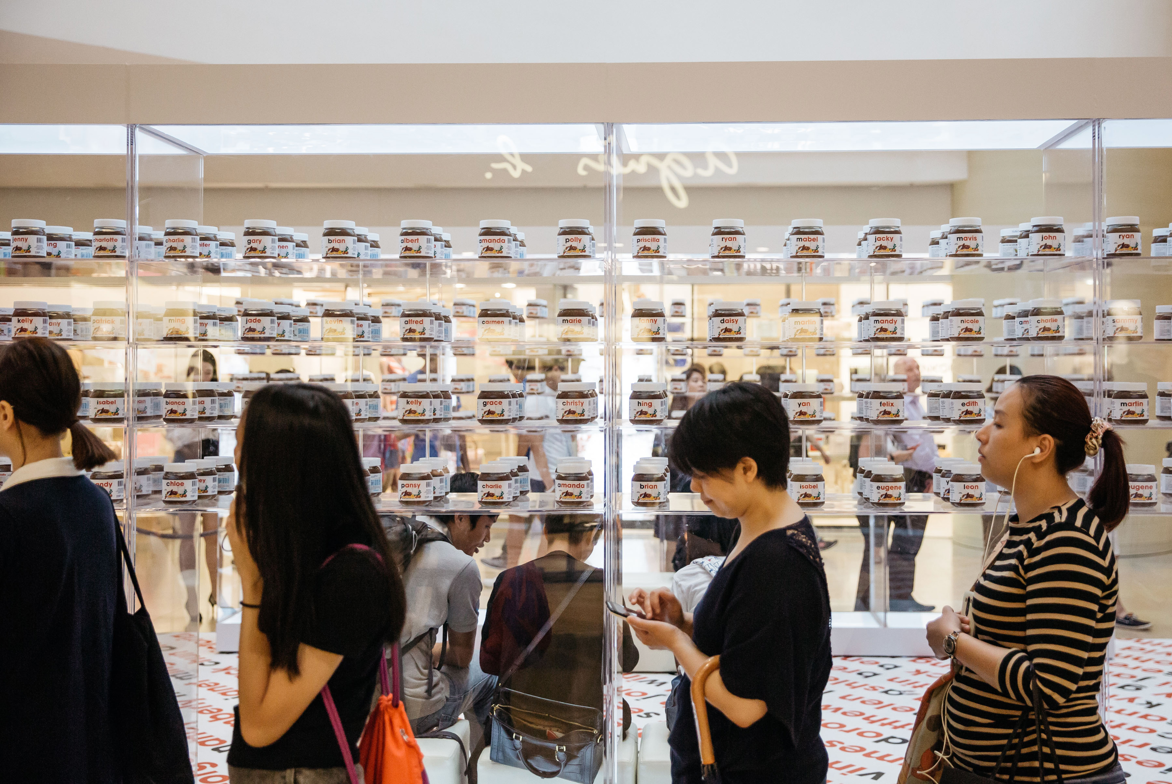 Nutella Pop-Up Store in Hong Kong