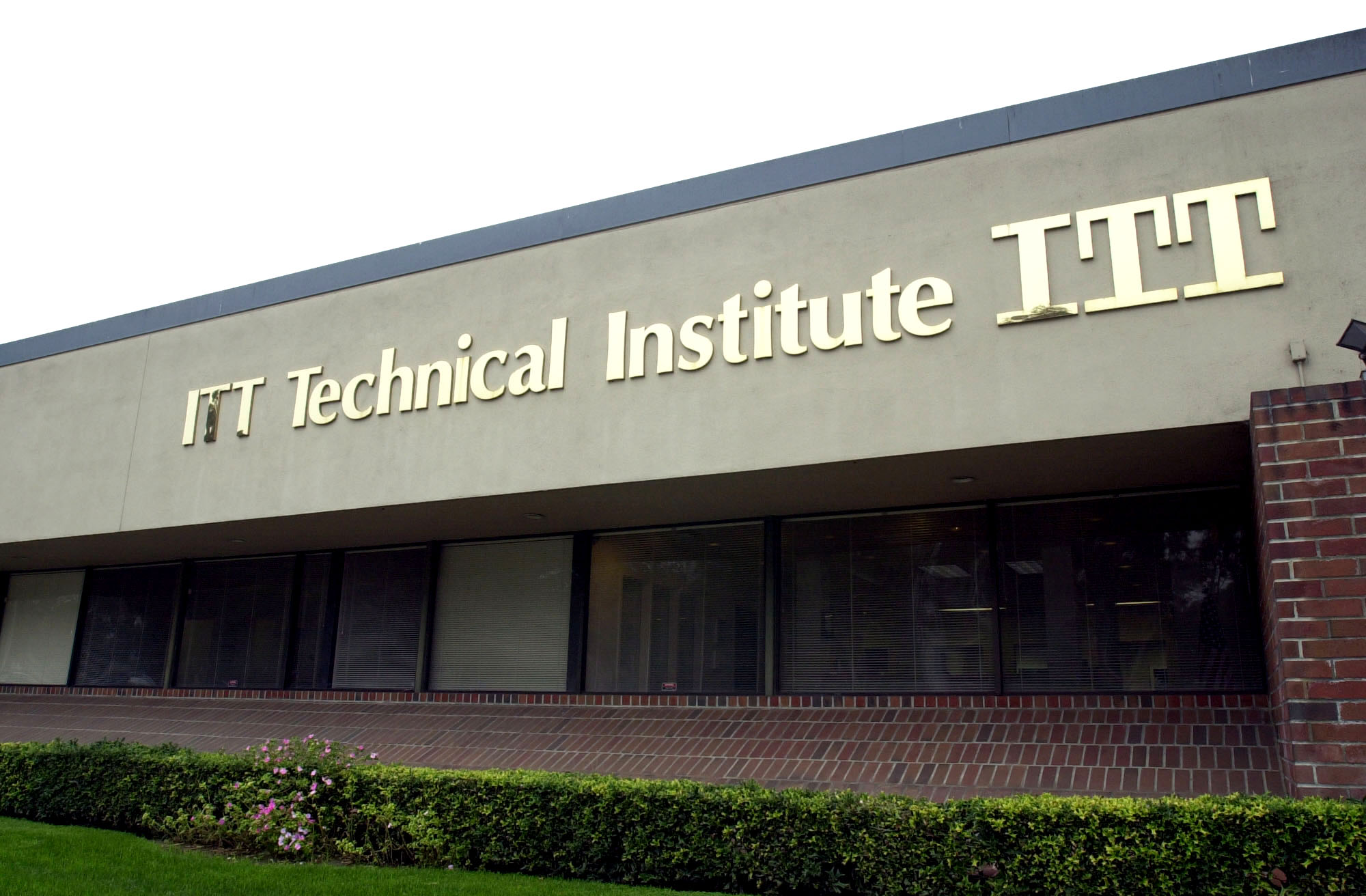 This is the campus of ITT Technical Institute in West Covina