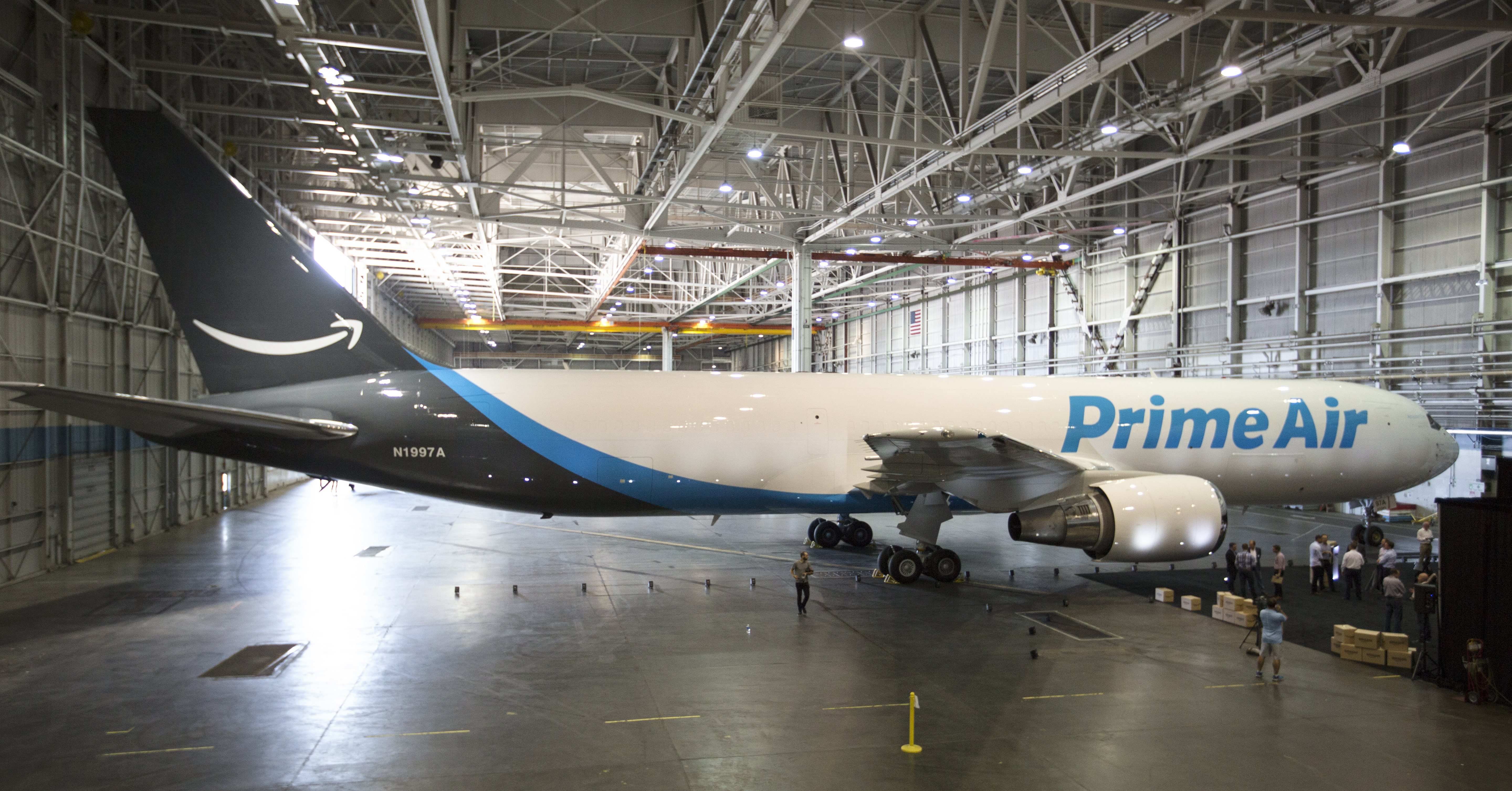 Amazon One Prime Air cargo plane