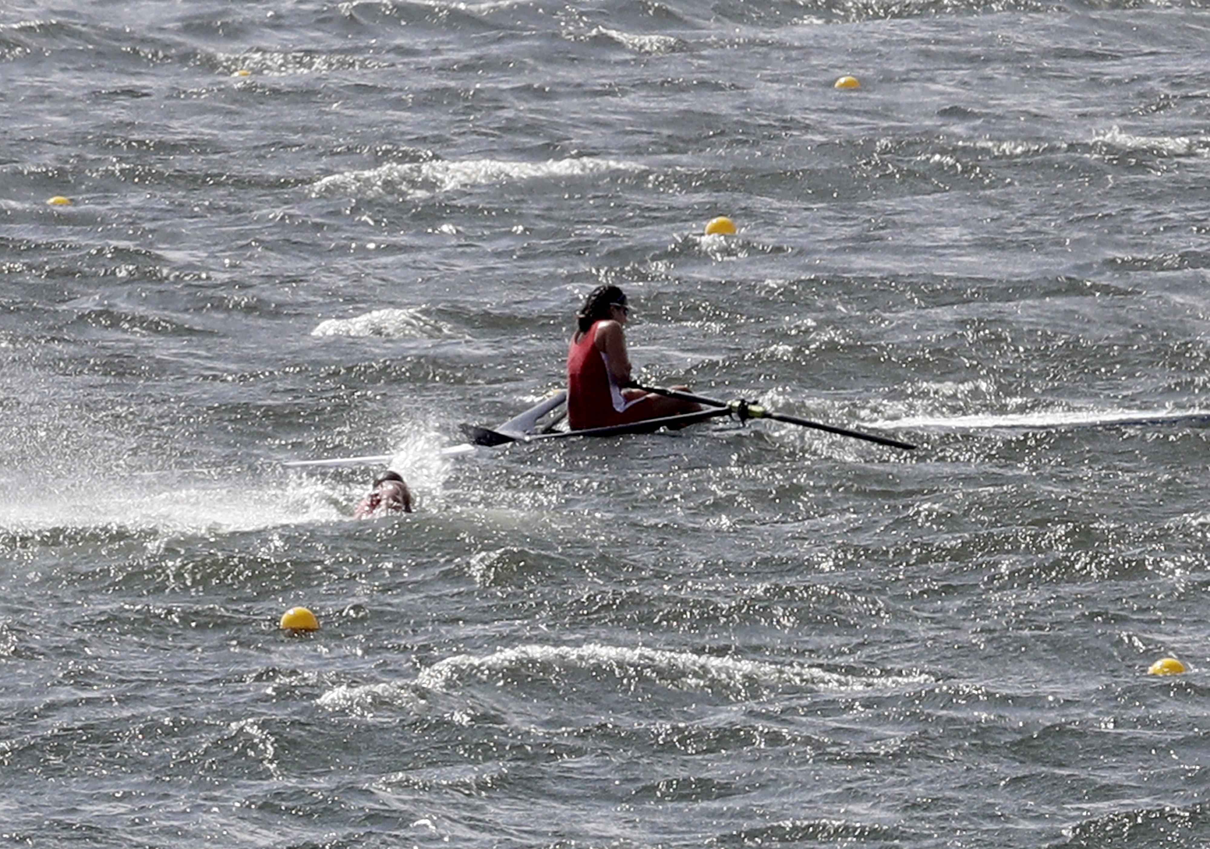 APTOPIX Rio Olympics Rowing