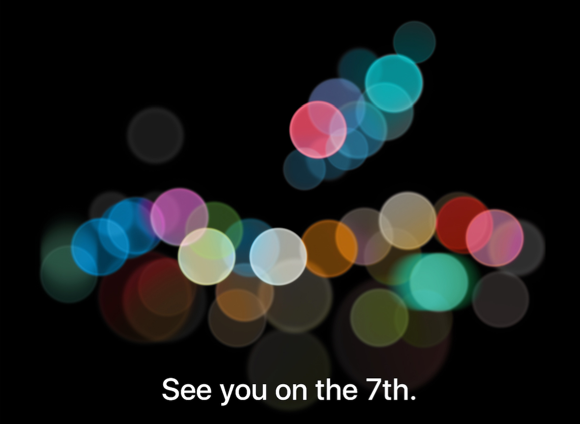 Apple will hold its special iPhone event on Sept. 7.