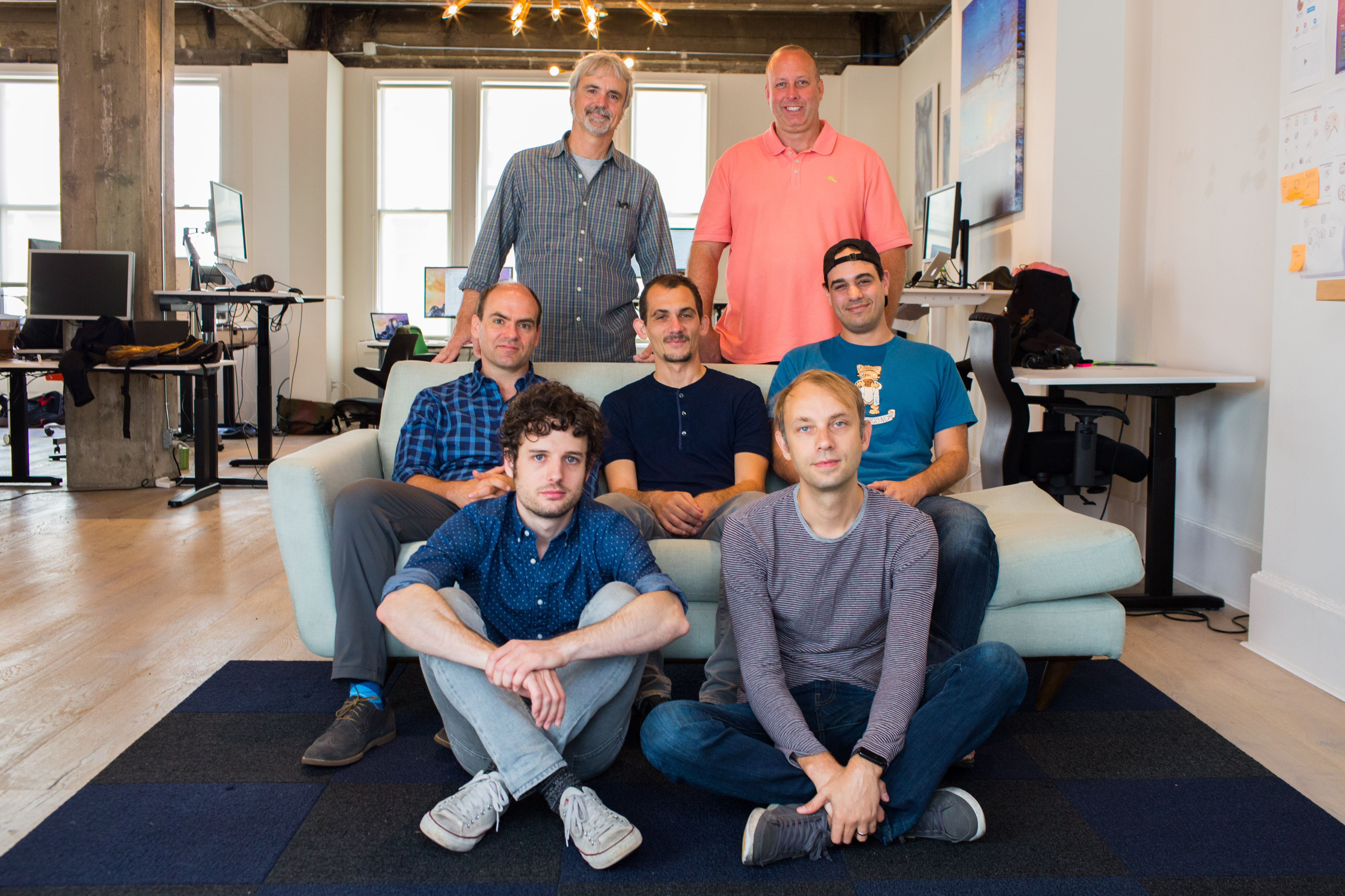 The team at startup Attic Labs.