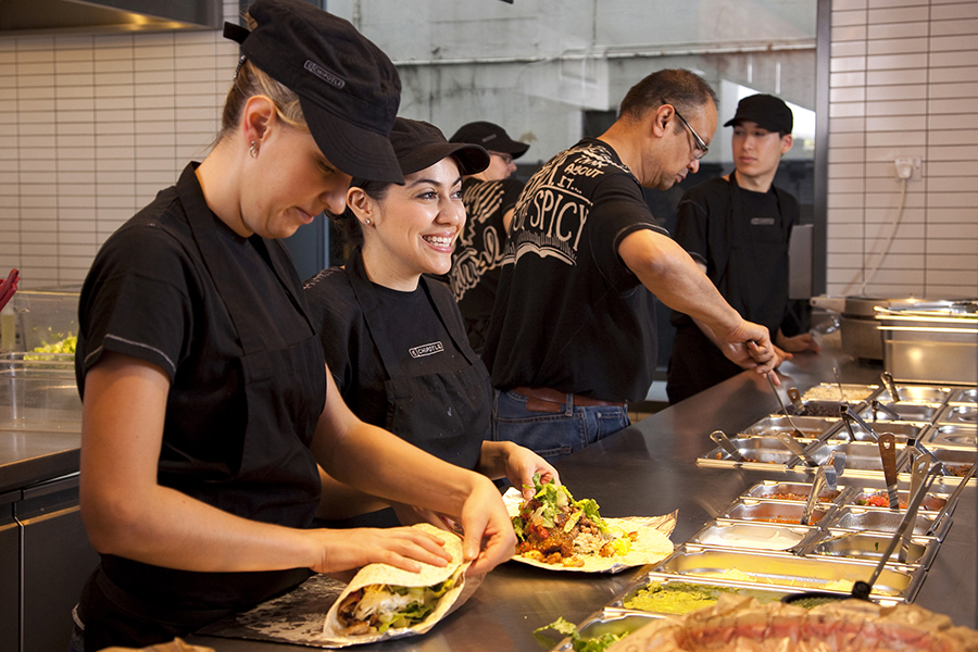 Chipotle is expanding the restaurant chain's tuition reimbursement program with a new partnership with Guild Education.