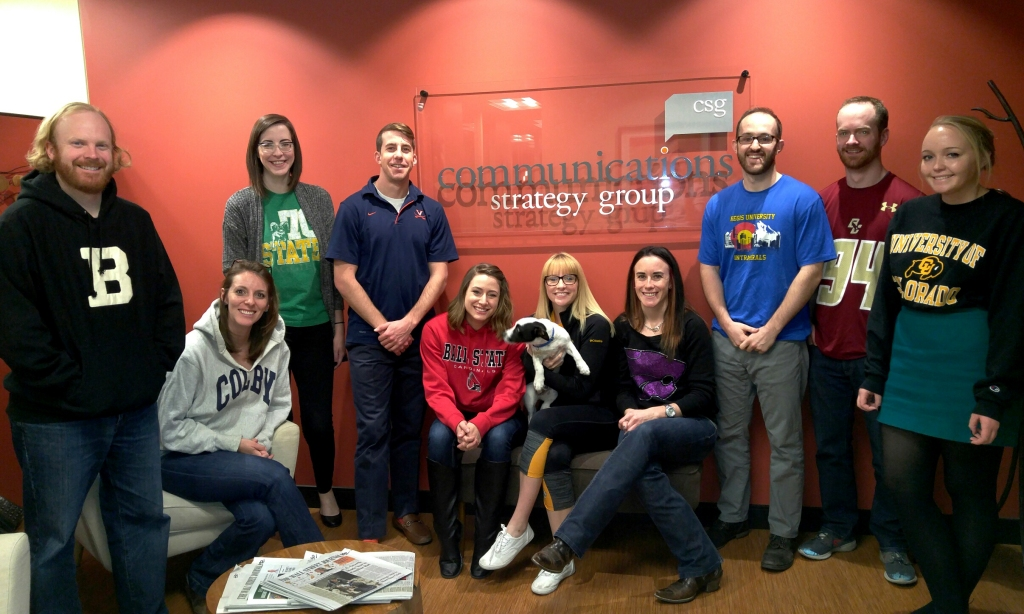 best workplaces advertising and marketing 2016- Communications Strategy Group