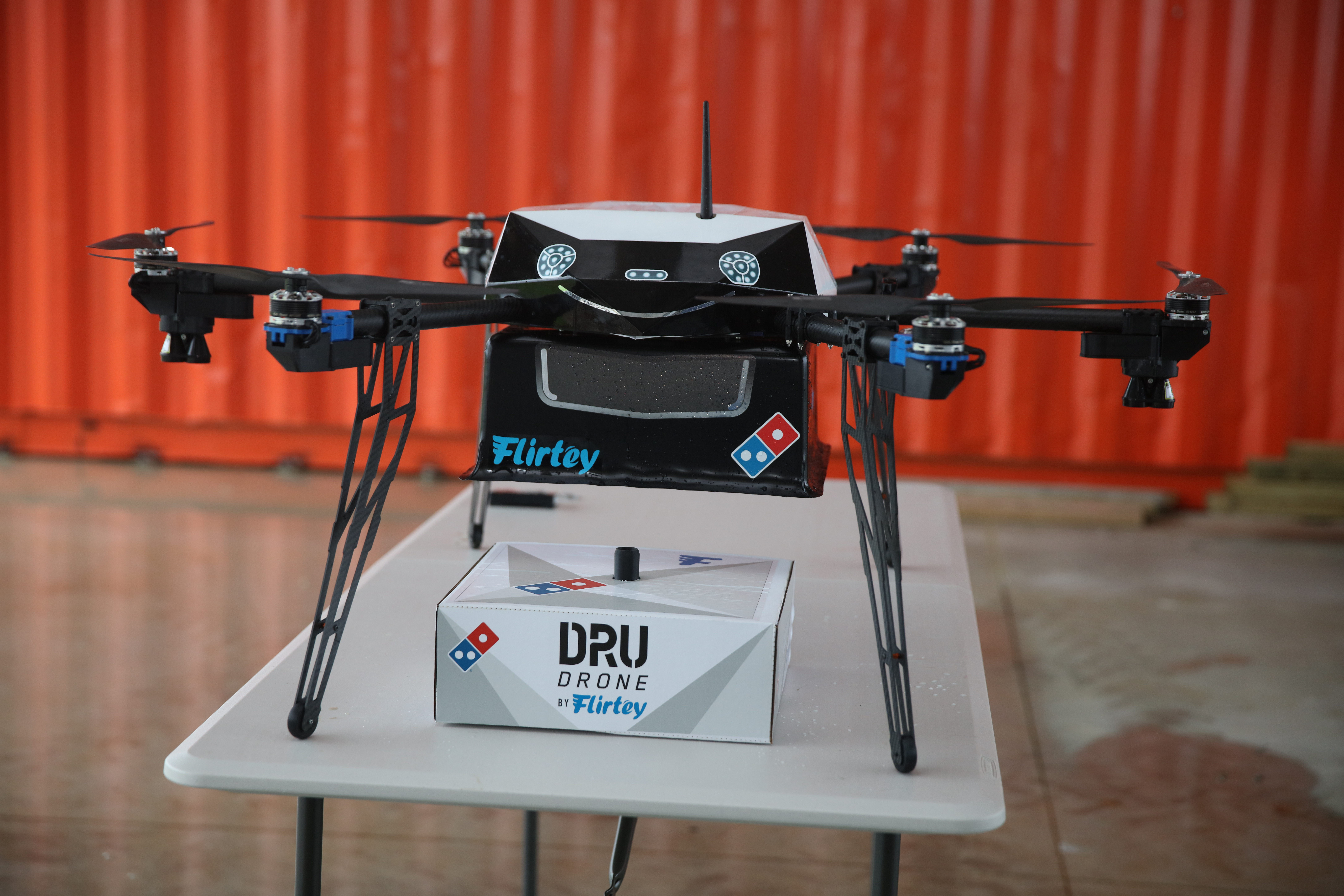 Domino's DRU DRONE could take regular flight later this year.