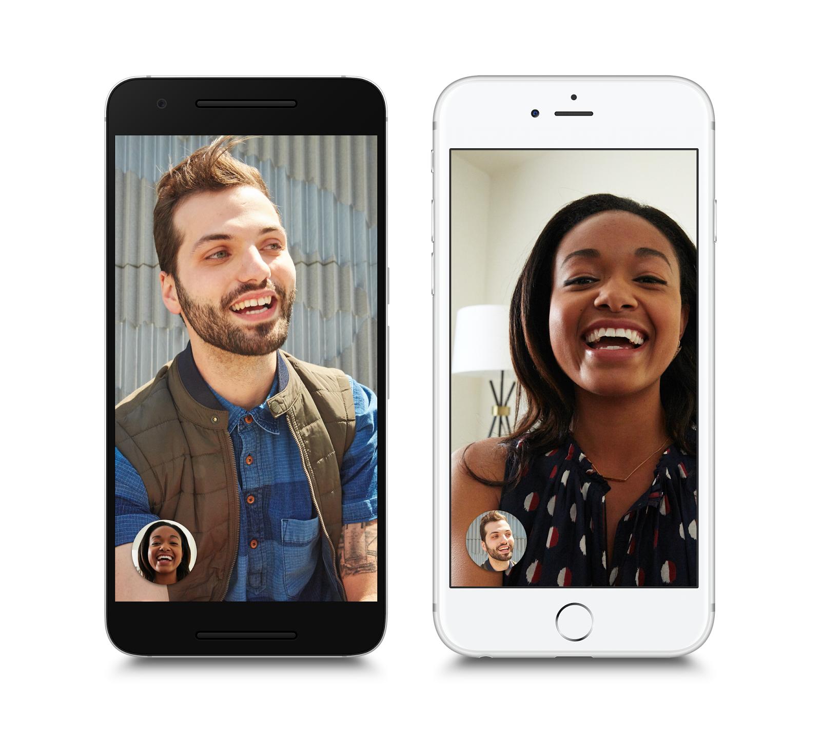 Google's Duo video-calling app.