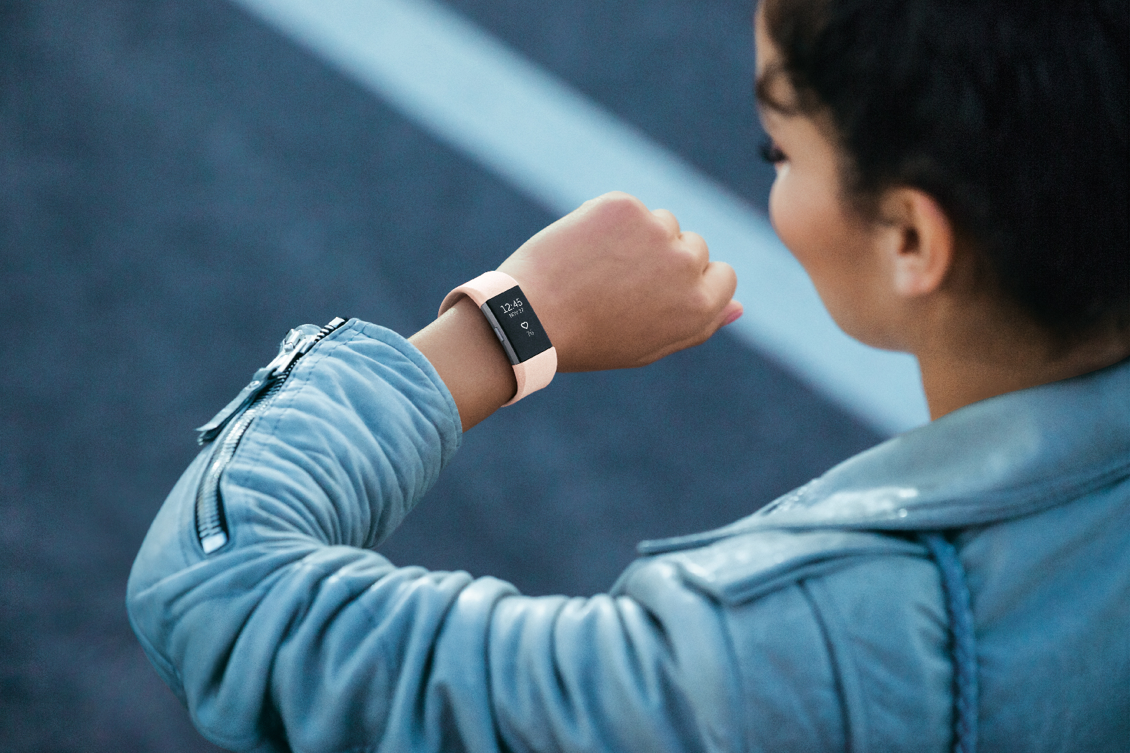 The new Fitbit Charge 2 fitness tracker.