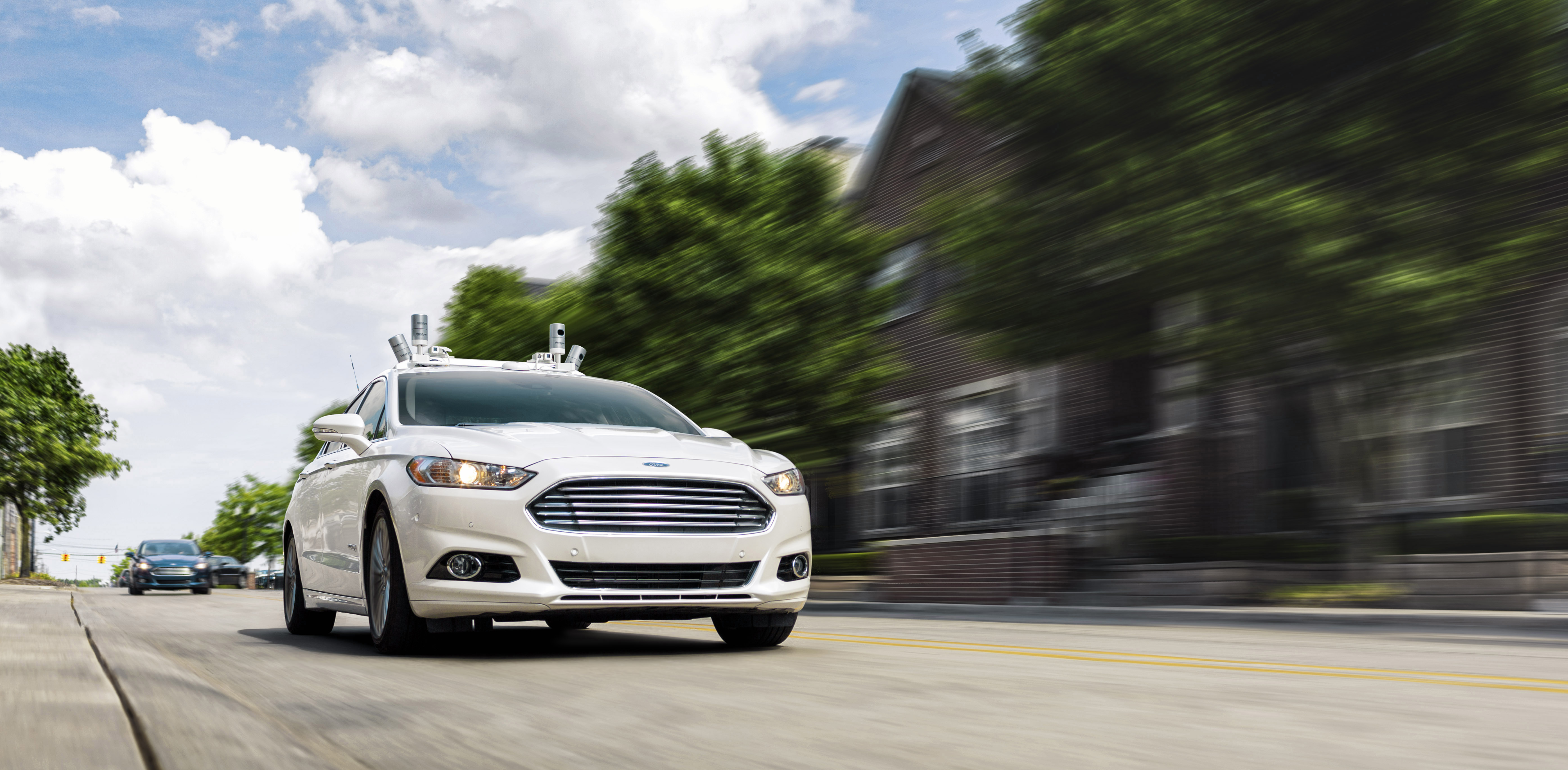 Ford is testing autonomous Fusion hybrids, and added 20 of the vehicles to its self-driving test fleet in 2016.