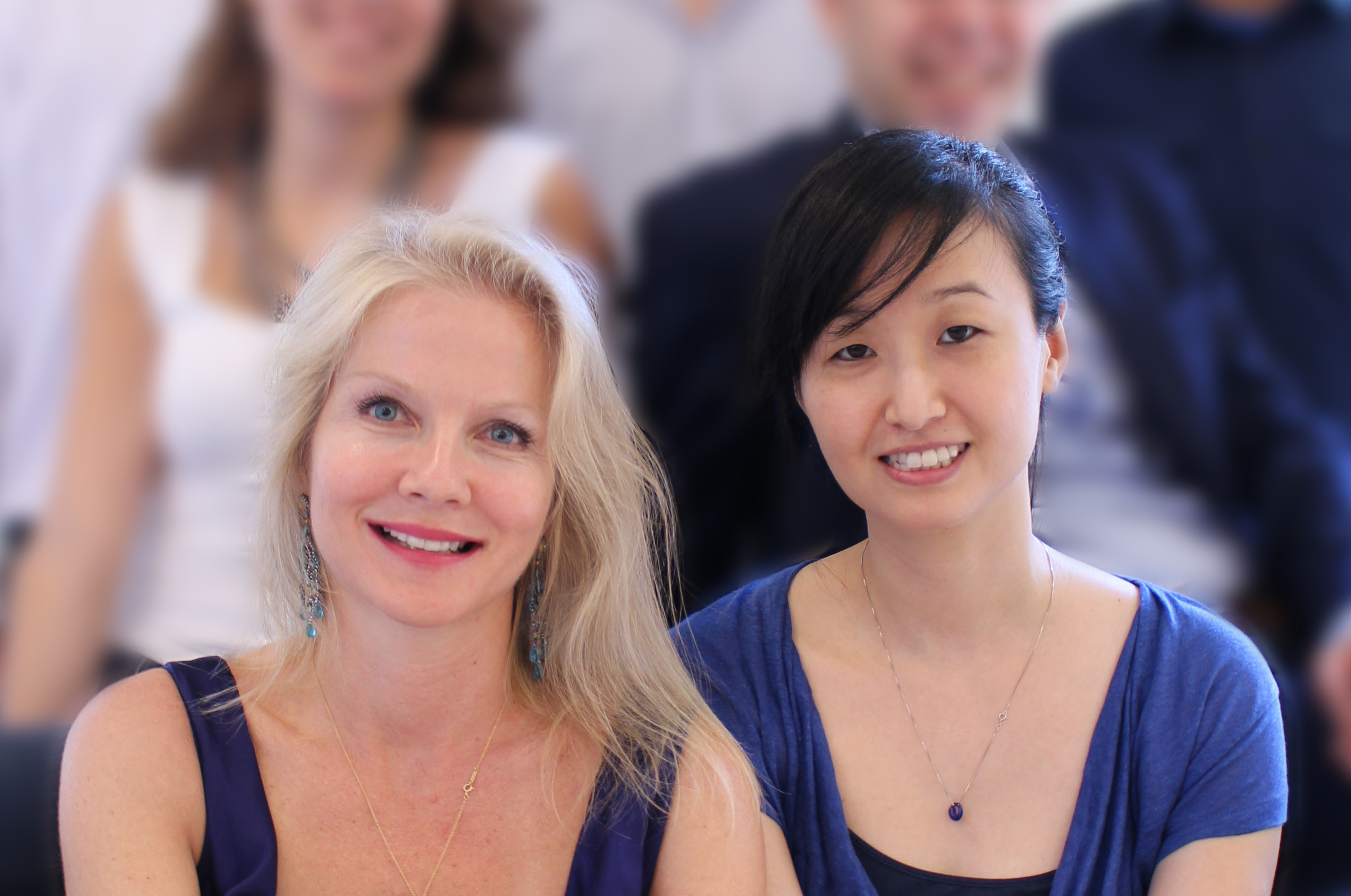 Pymetrics co-founders Frida Polli and Julie Yoo