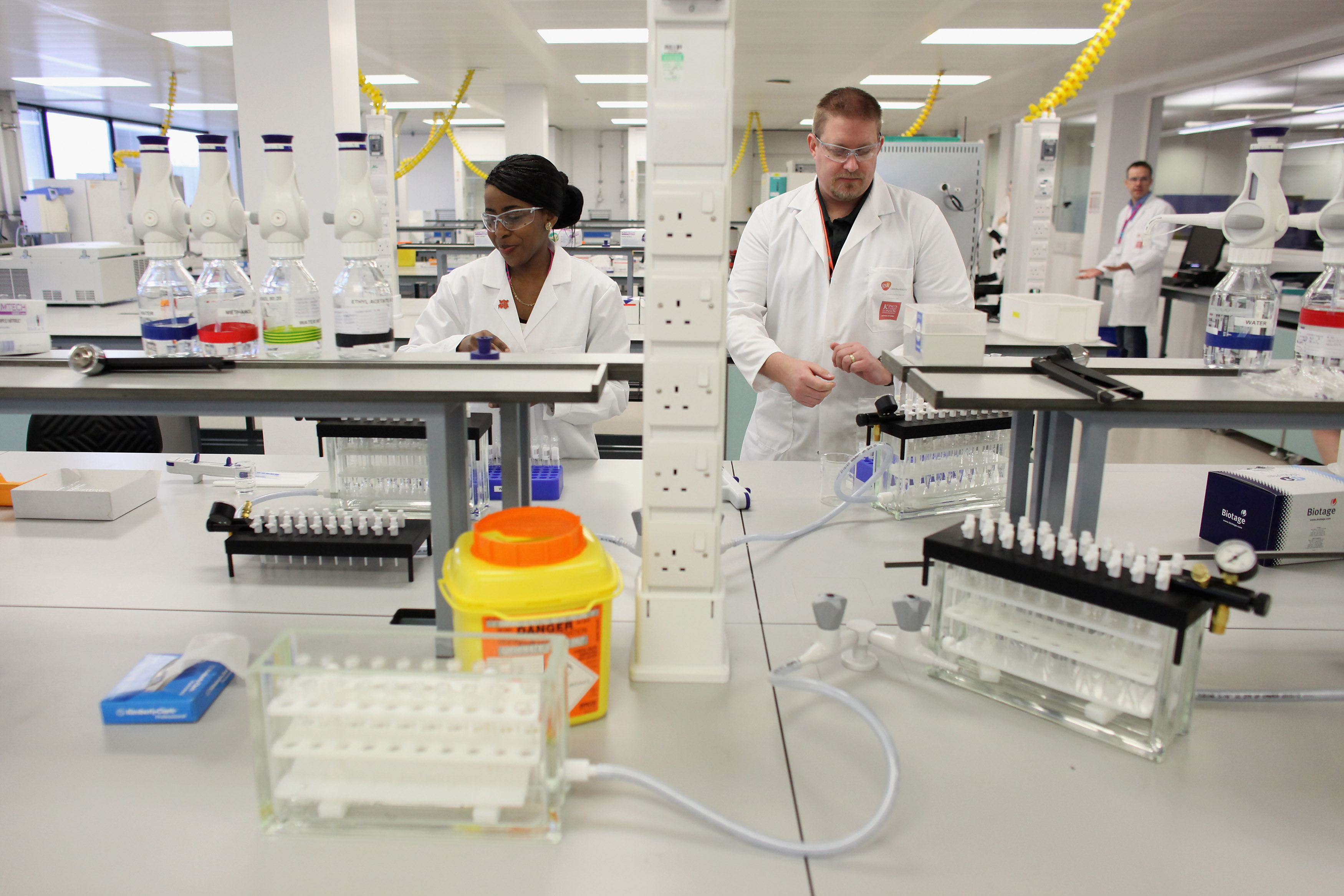 London 2012 Unveil the Anti-Doping Laboratory For The Olympic Games