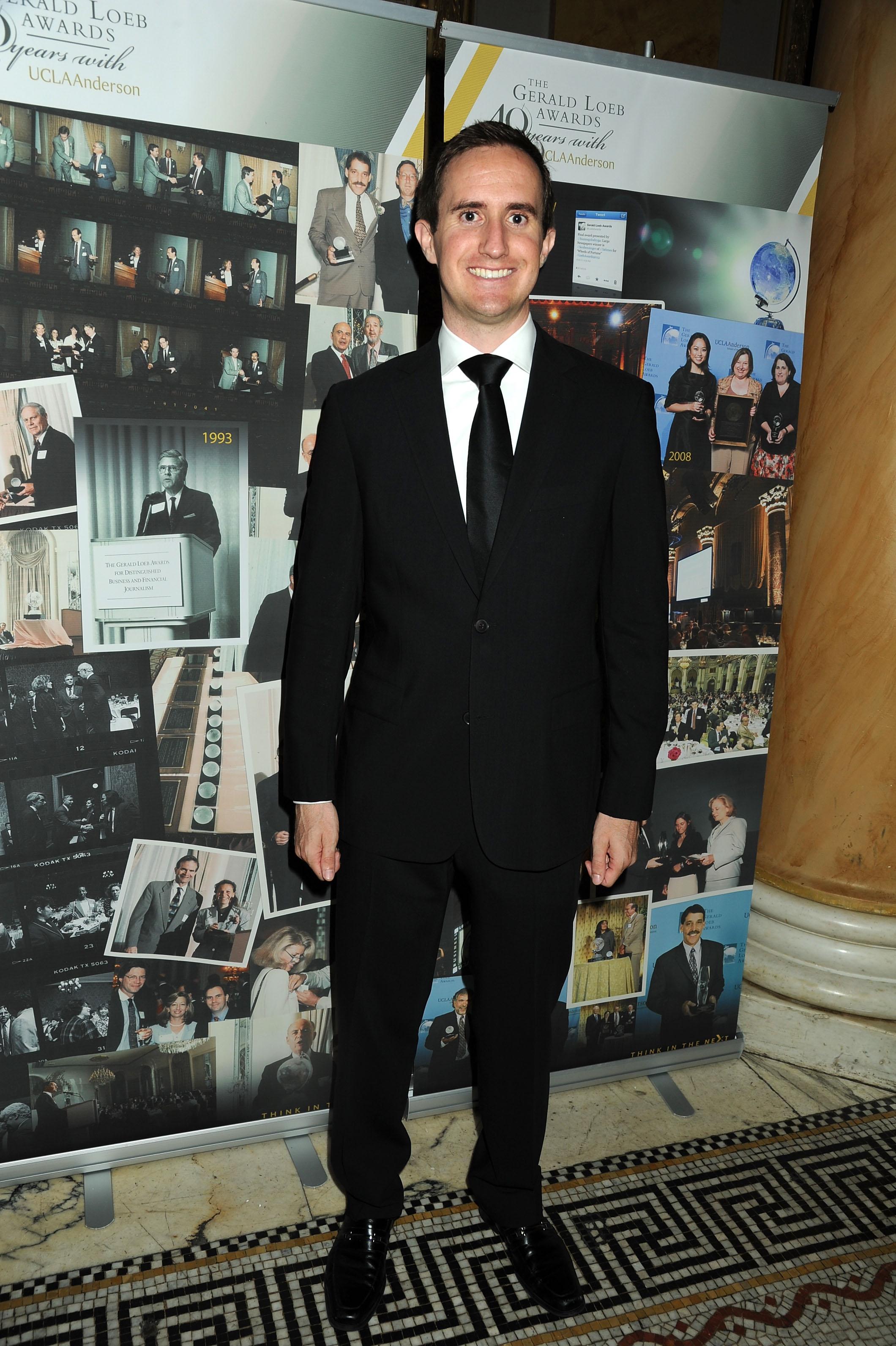 2013 Gerald Loeb Awards - Cocktails