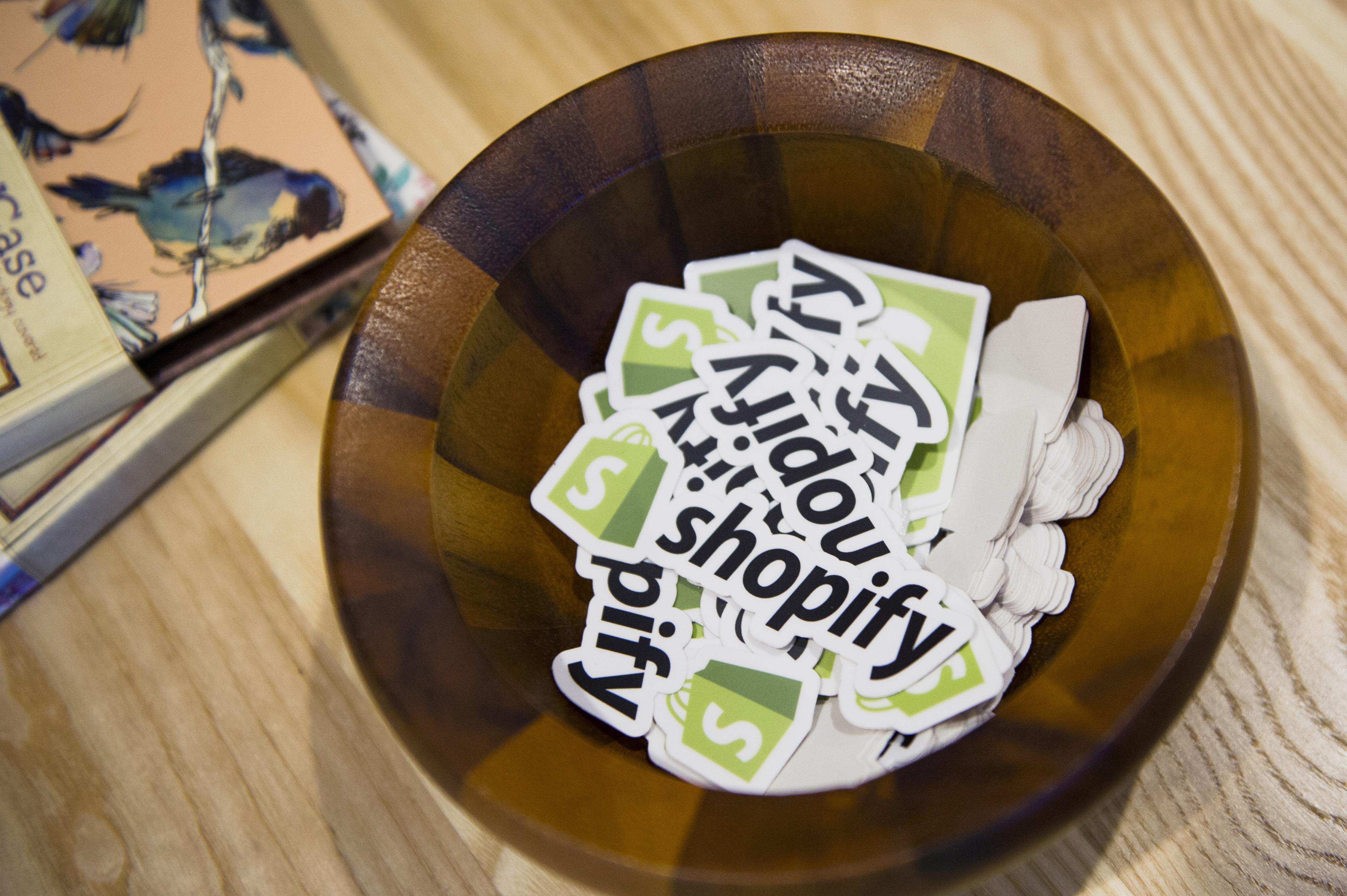 Shopify Inc. Headquarters As Company's Third-Quarter Sales Beat Estimates