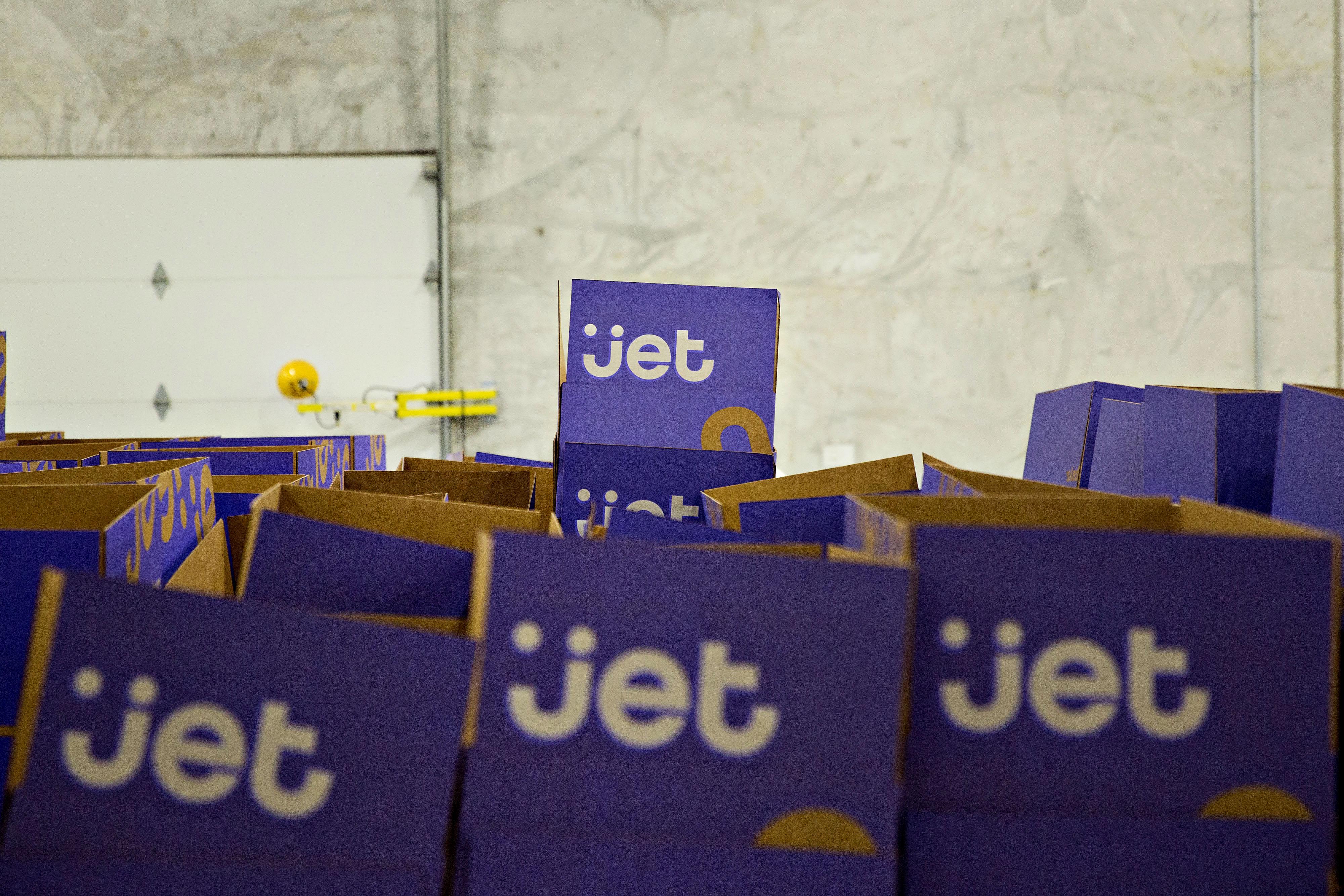 Inside A Jet.com Inc. Fulfillment Center On Cyber Monday