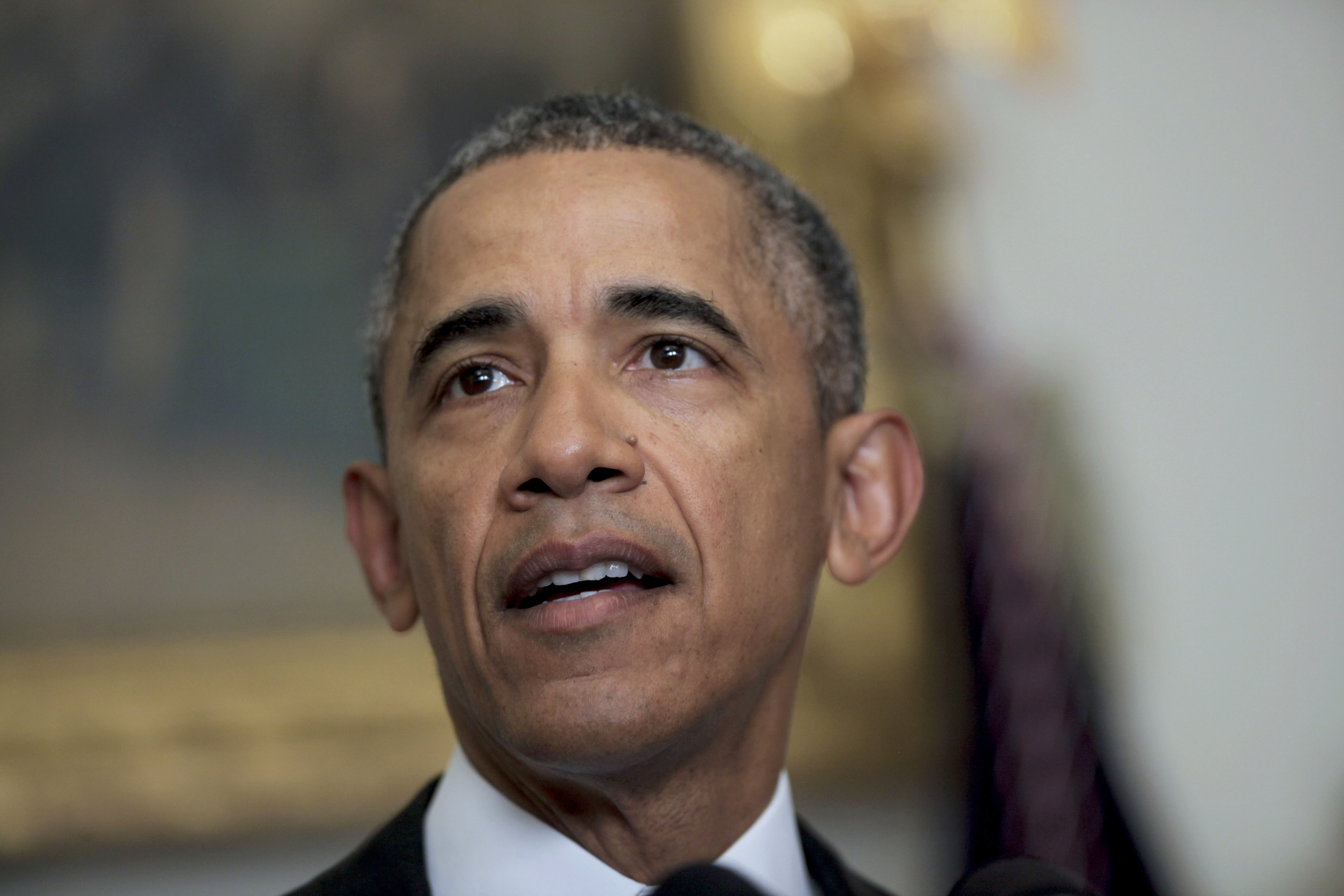 Obama Makes Statement On Iran