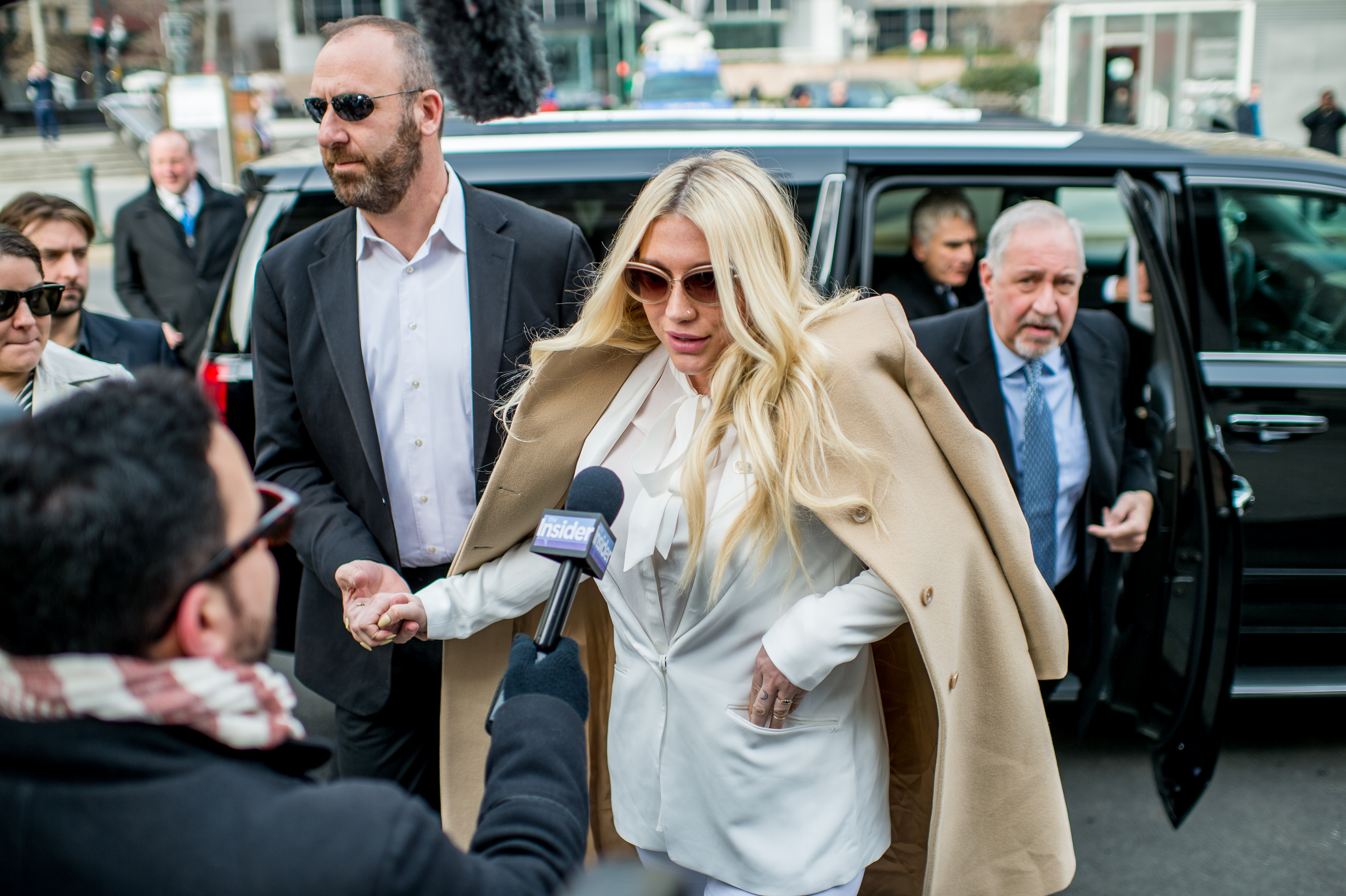 Kesha Fans Protest Sony Music Outside New York State Supreme Court