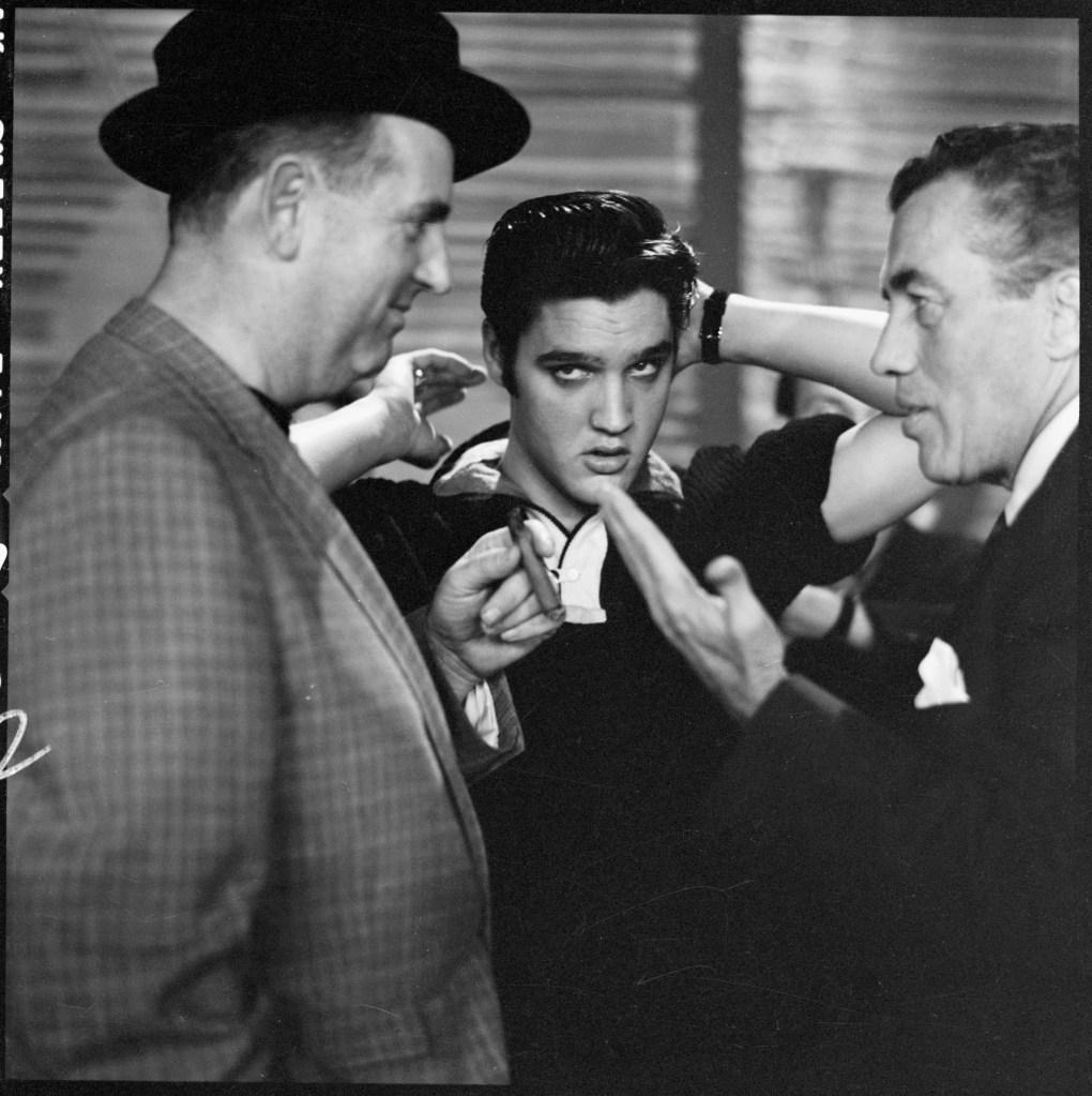 Parker & Presley Backstage With Sullivan