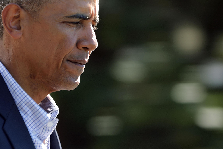President Obama Departs White House For Louisiana
