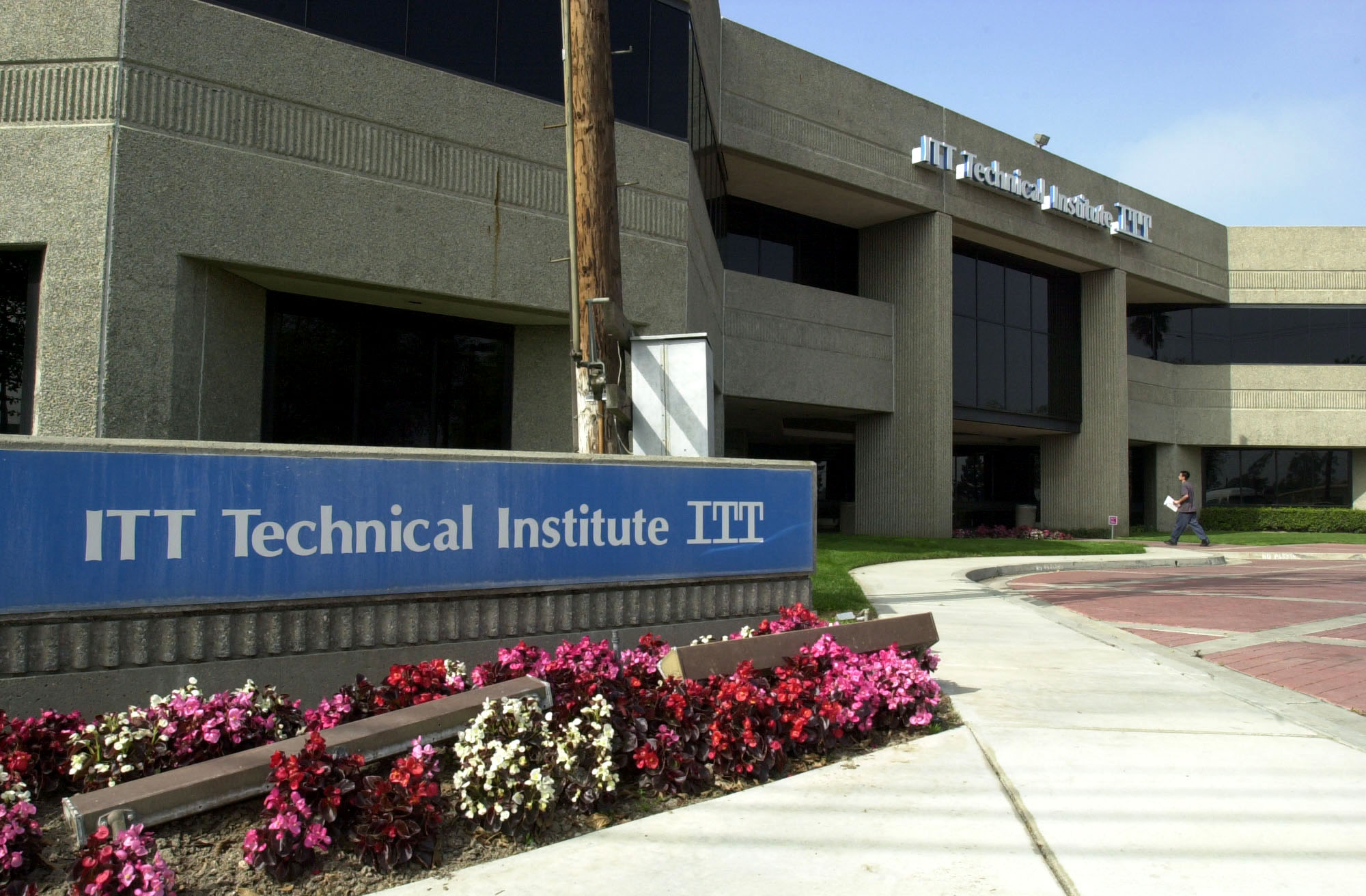 This is the campus of ITT Technical Institute in Anaheim, Ca