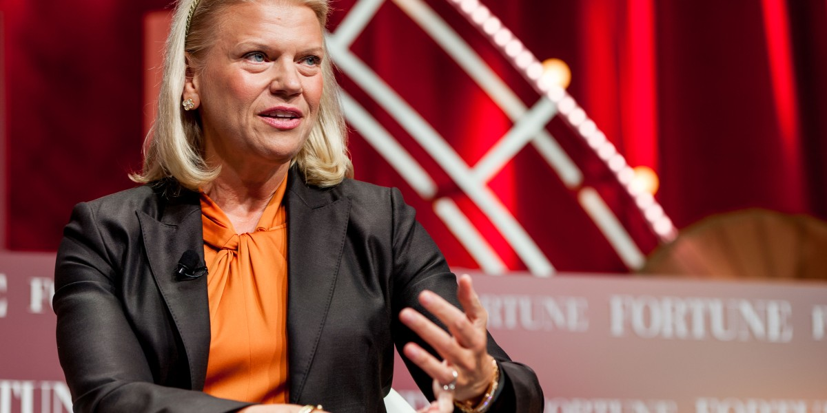 ginni rometty ibm - After eight years, what did IBM's outgoing CEO accomplish?