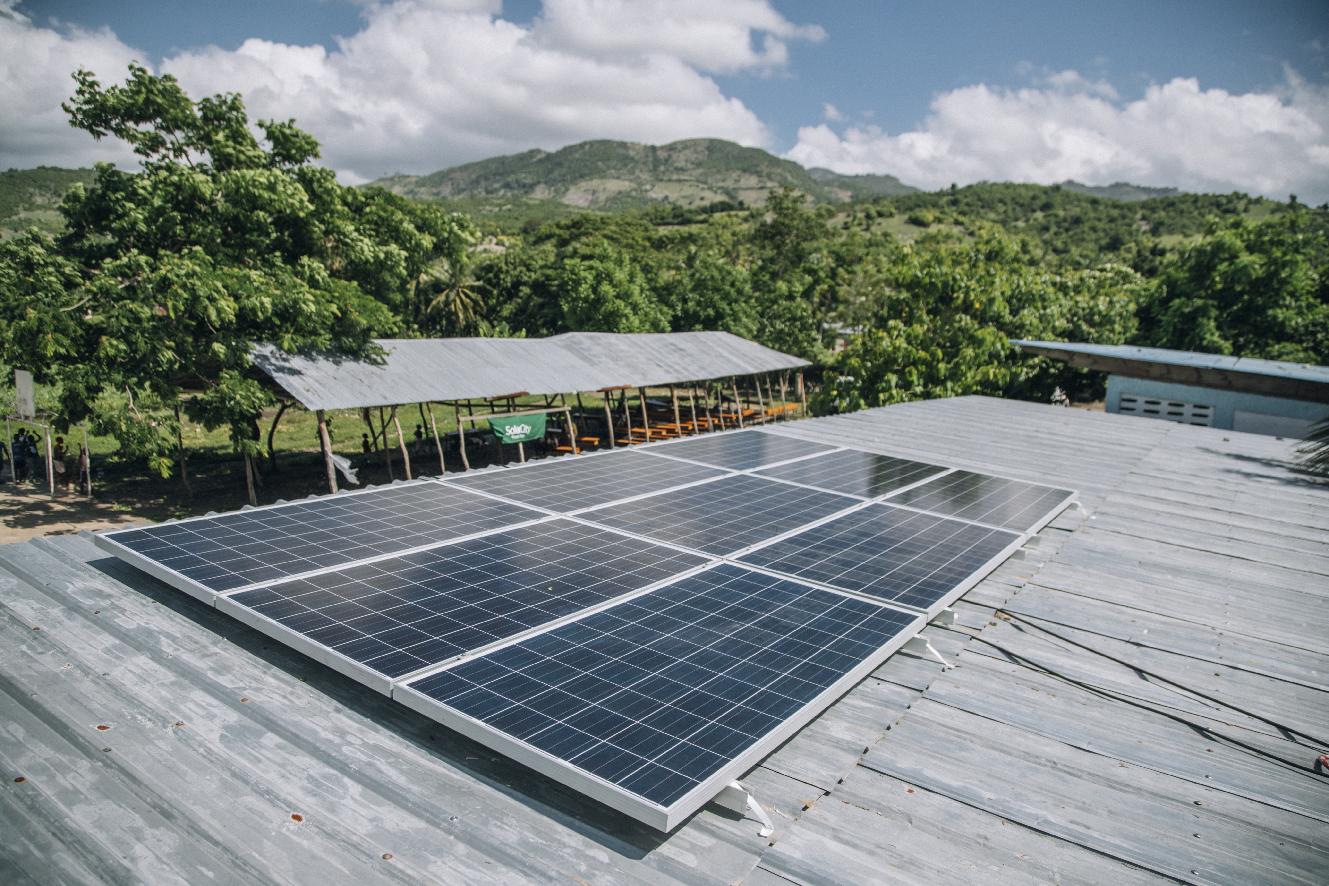 Solar City and Give Power in Haiti.