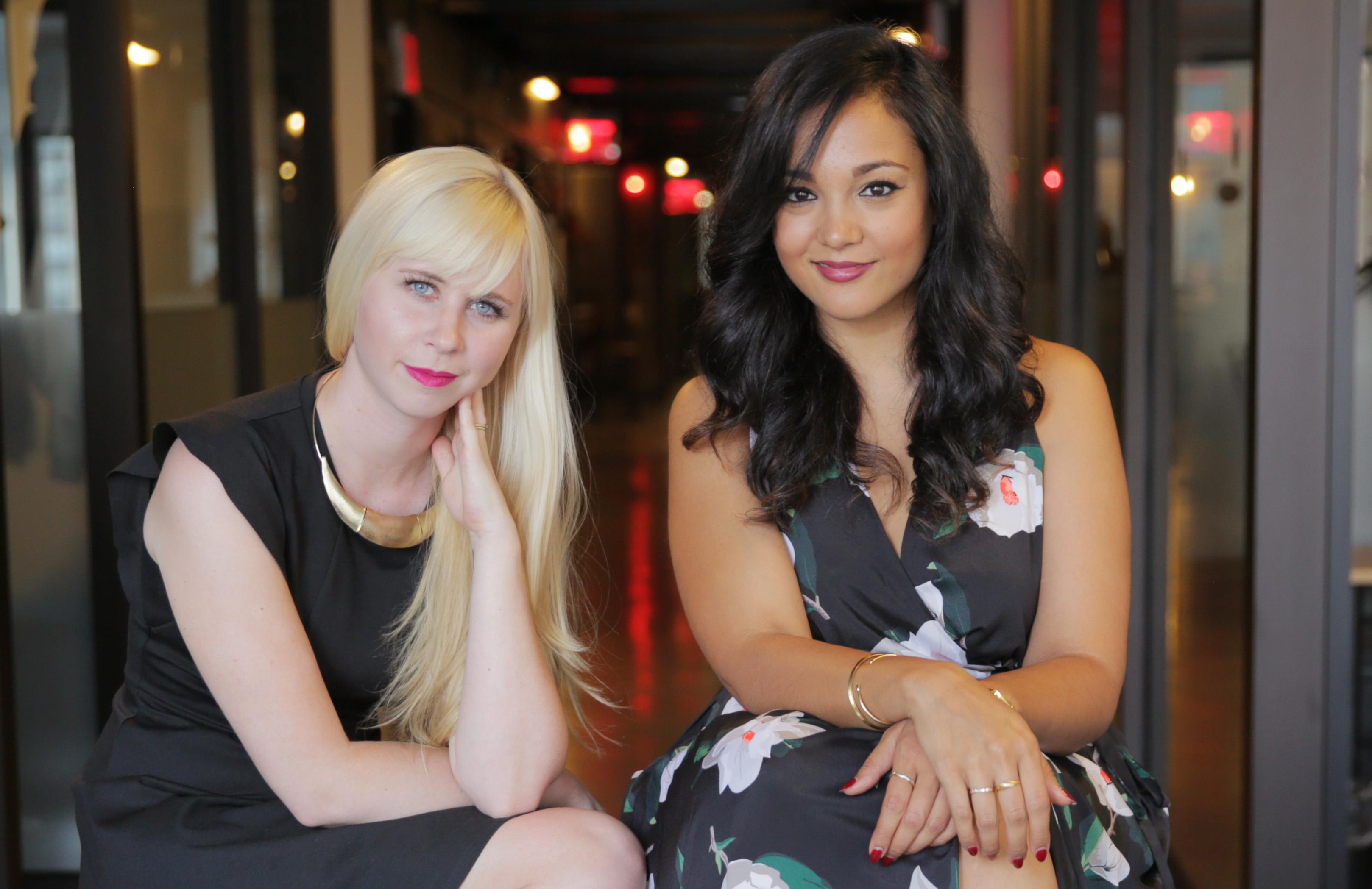 Erin Bagwell and Komal Minhas, co-founders of Dream, Girl.
