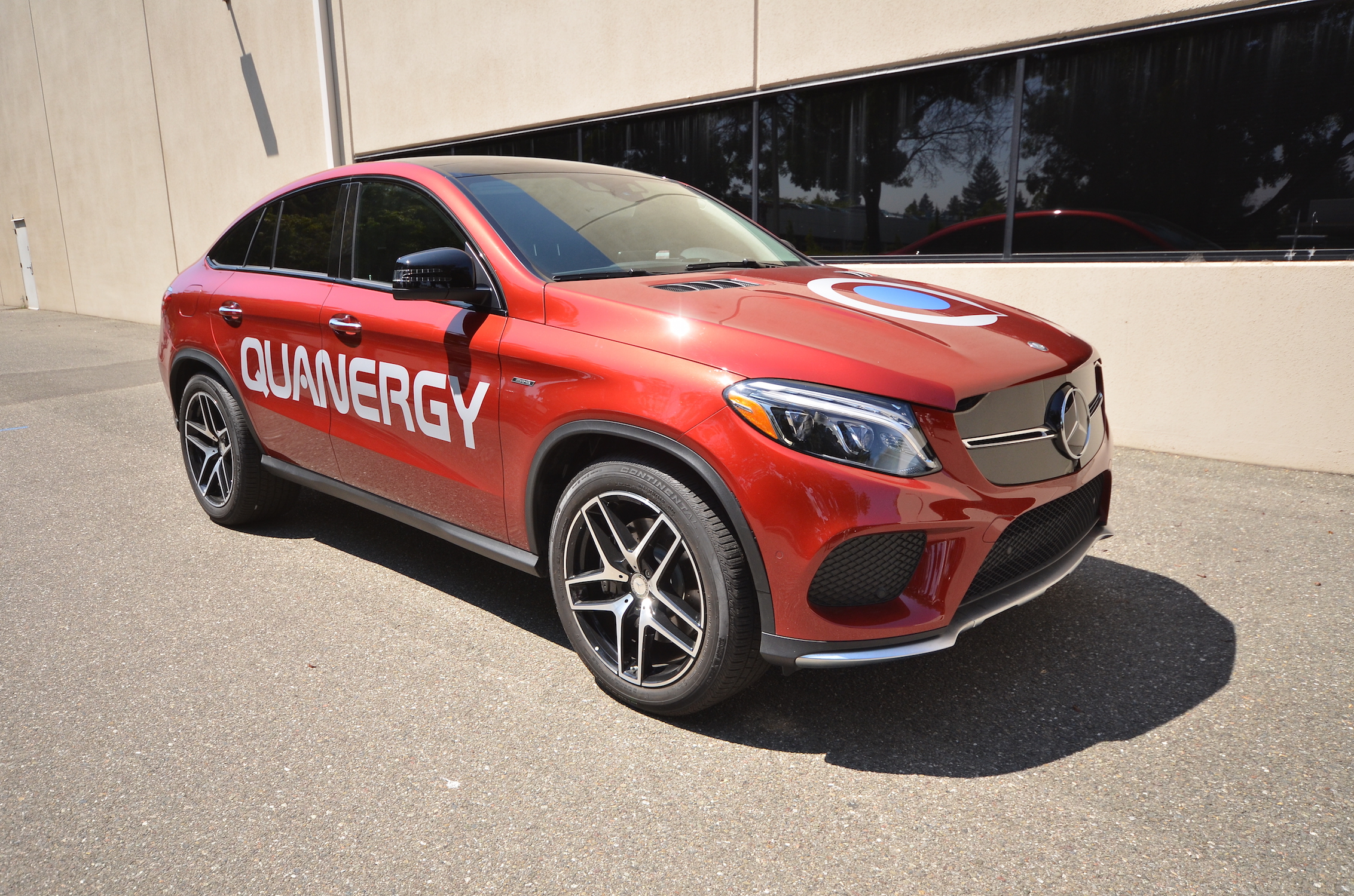 Quanergy's solid state LiDAR sensors are in this Mercedes.