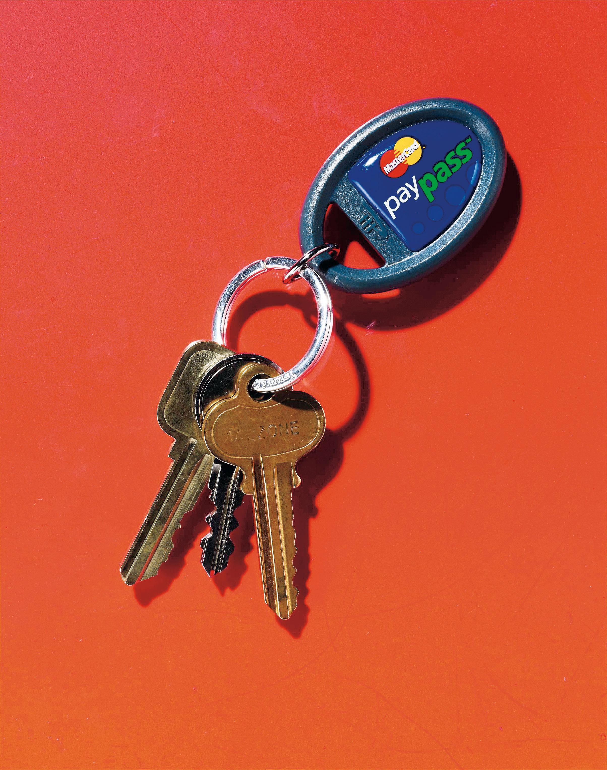 Mastercard key fab. October 2008