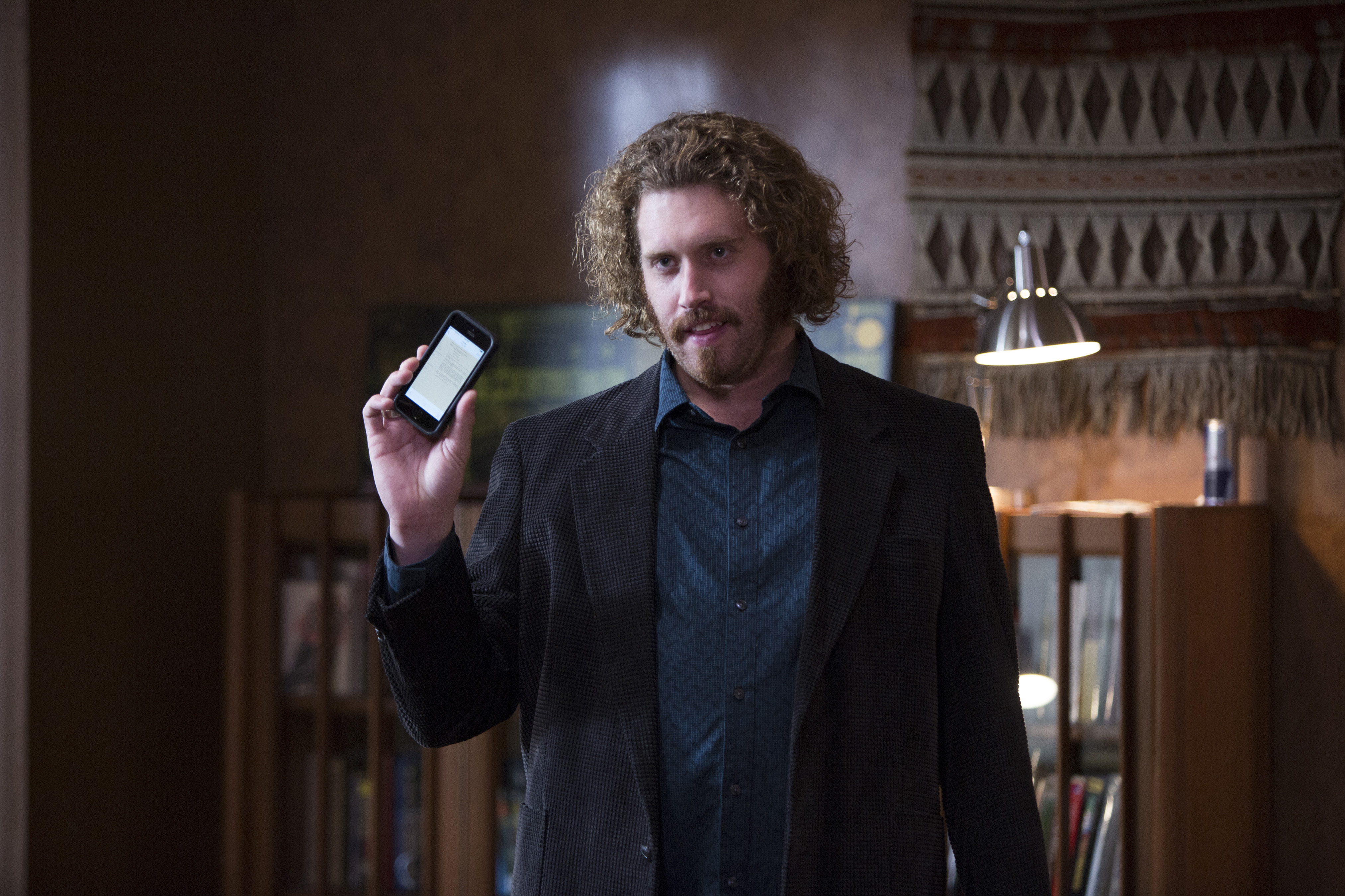 "TJ Miller as Erlich Bachmann in HBO's ""Silicon Valley""."