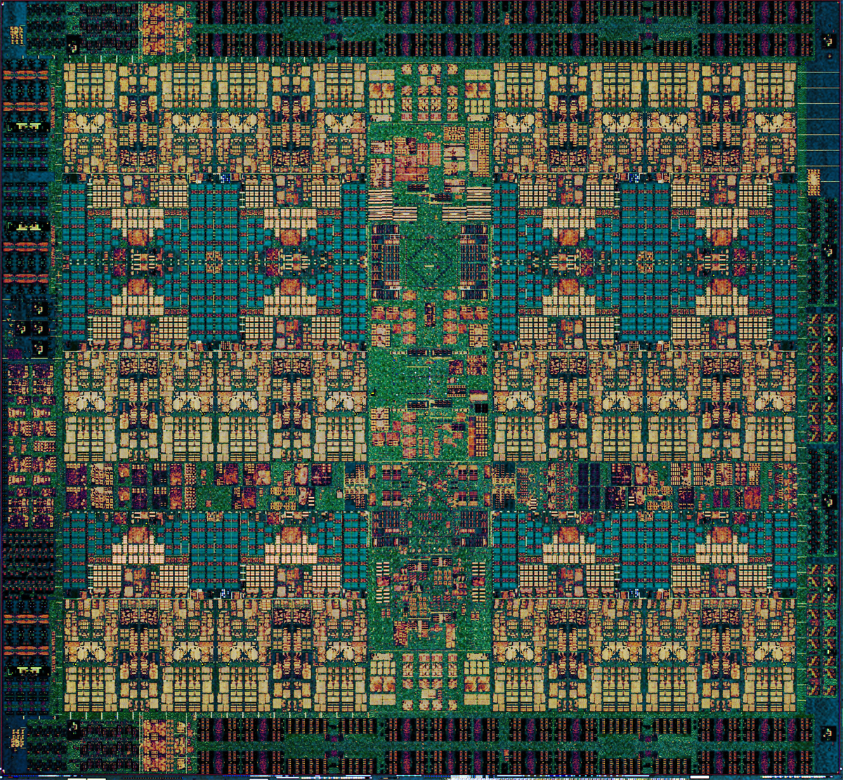 IBM Power9 chip.