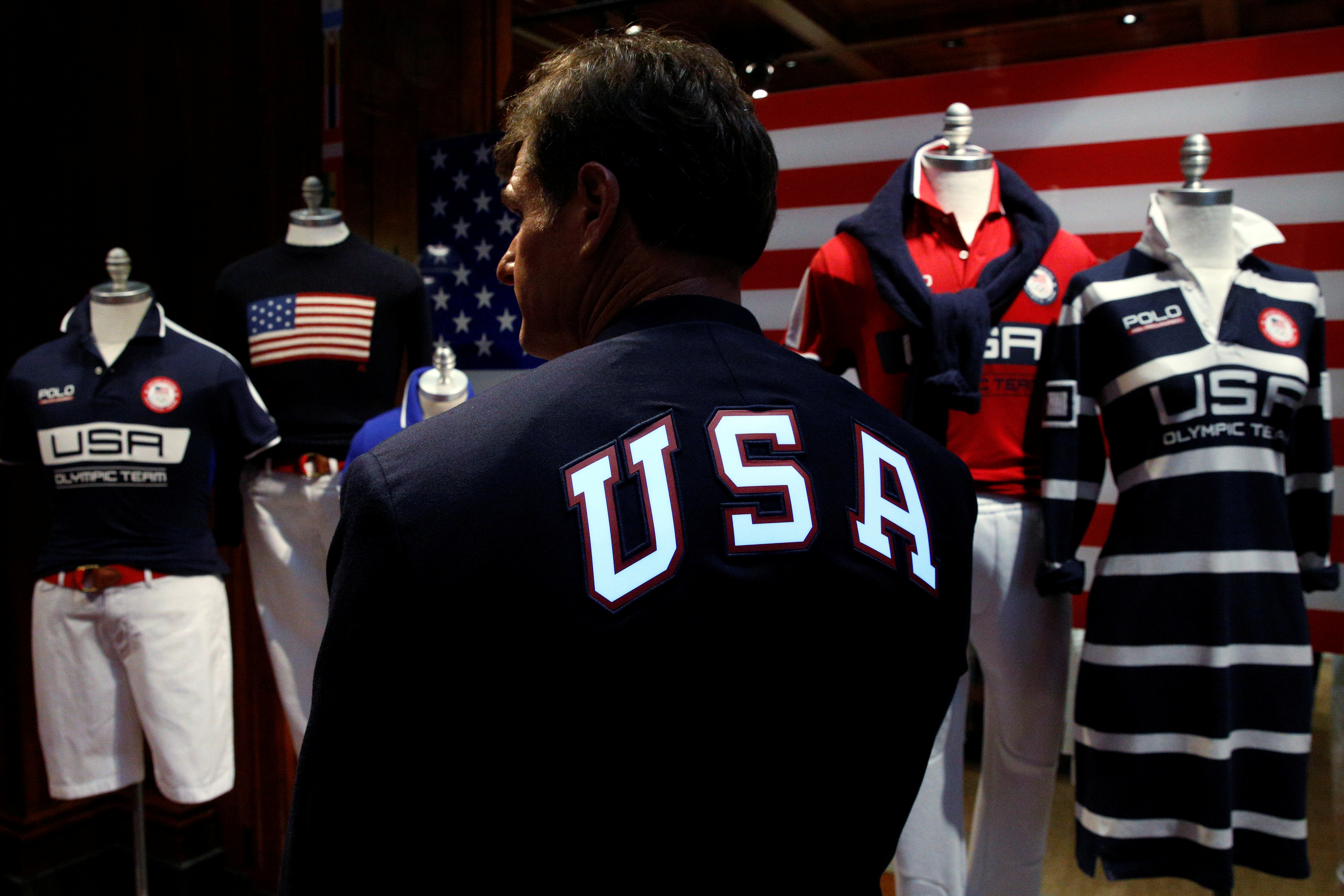 Ralph Lauren's Olympic Uniforms Are Patriotic, Made in