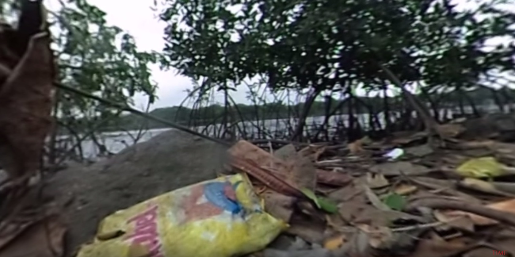 What Rio's pollution looks like on the ground.