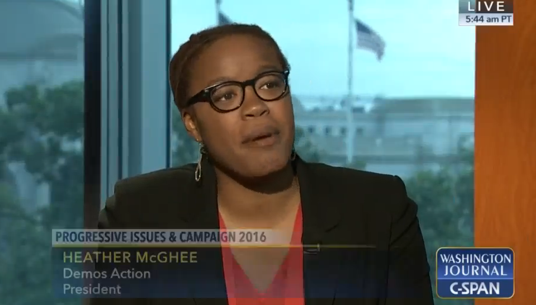 C-Span Heather McGhee