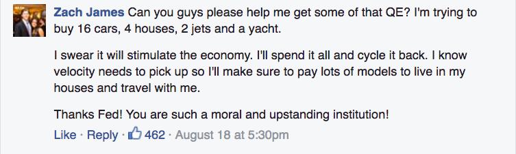 Fed on FB