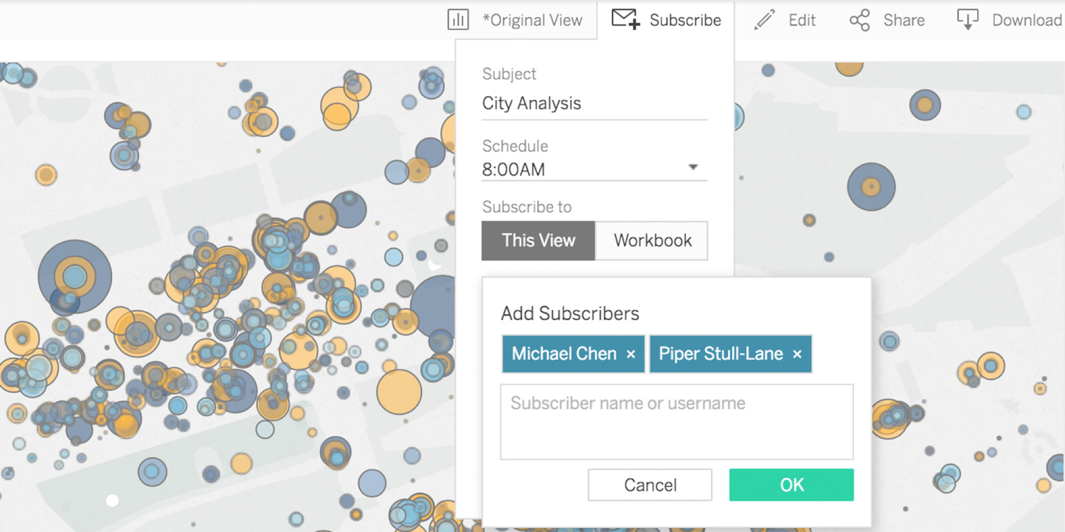 Tableau 10 includes more tools for controlling mobile access and accommodating additional data sources.