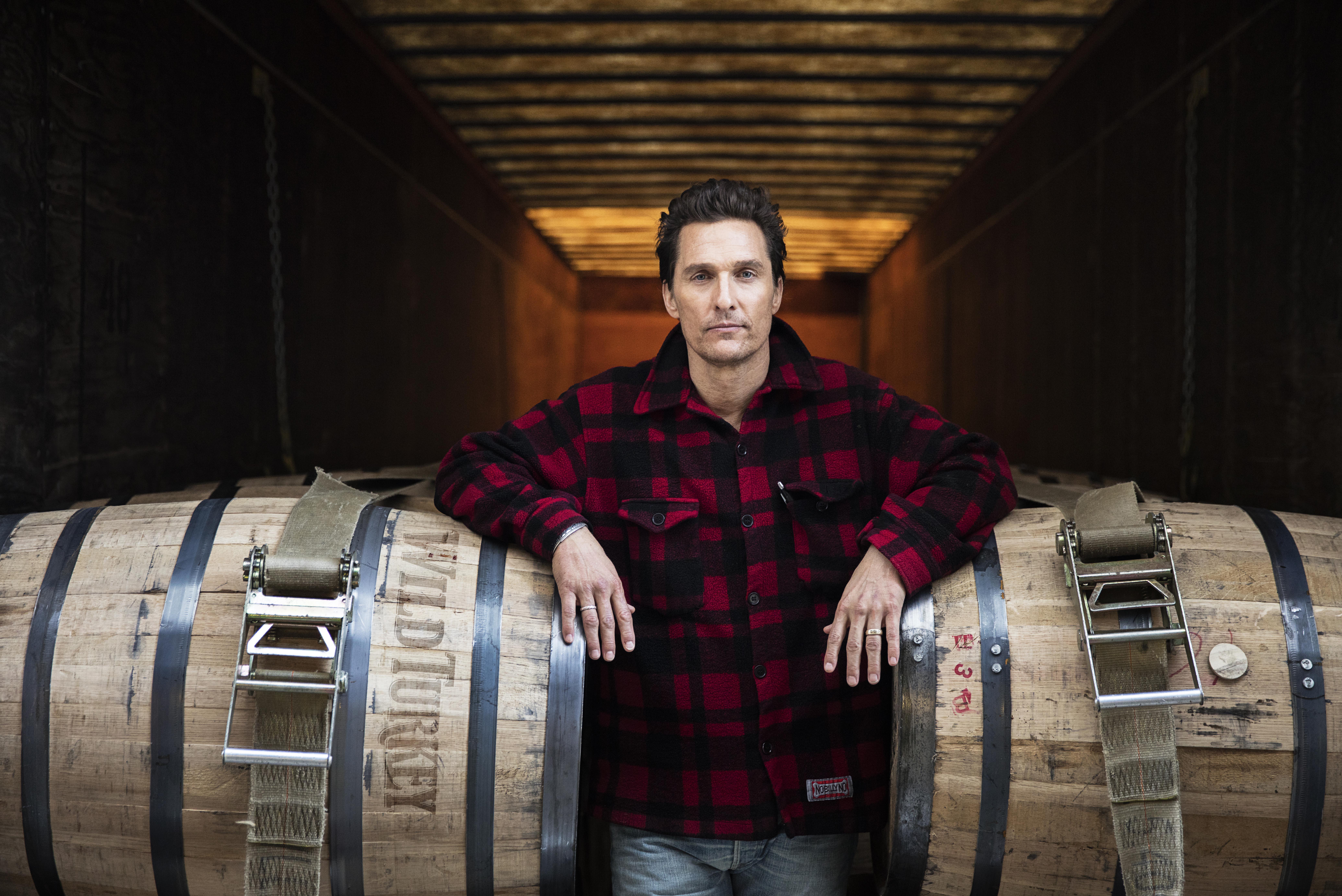 Academy Award-winning actor Matthew McConaughey is now creative director of bourbon maker Wild Turkey.
