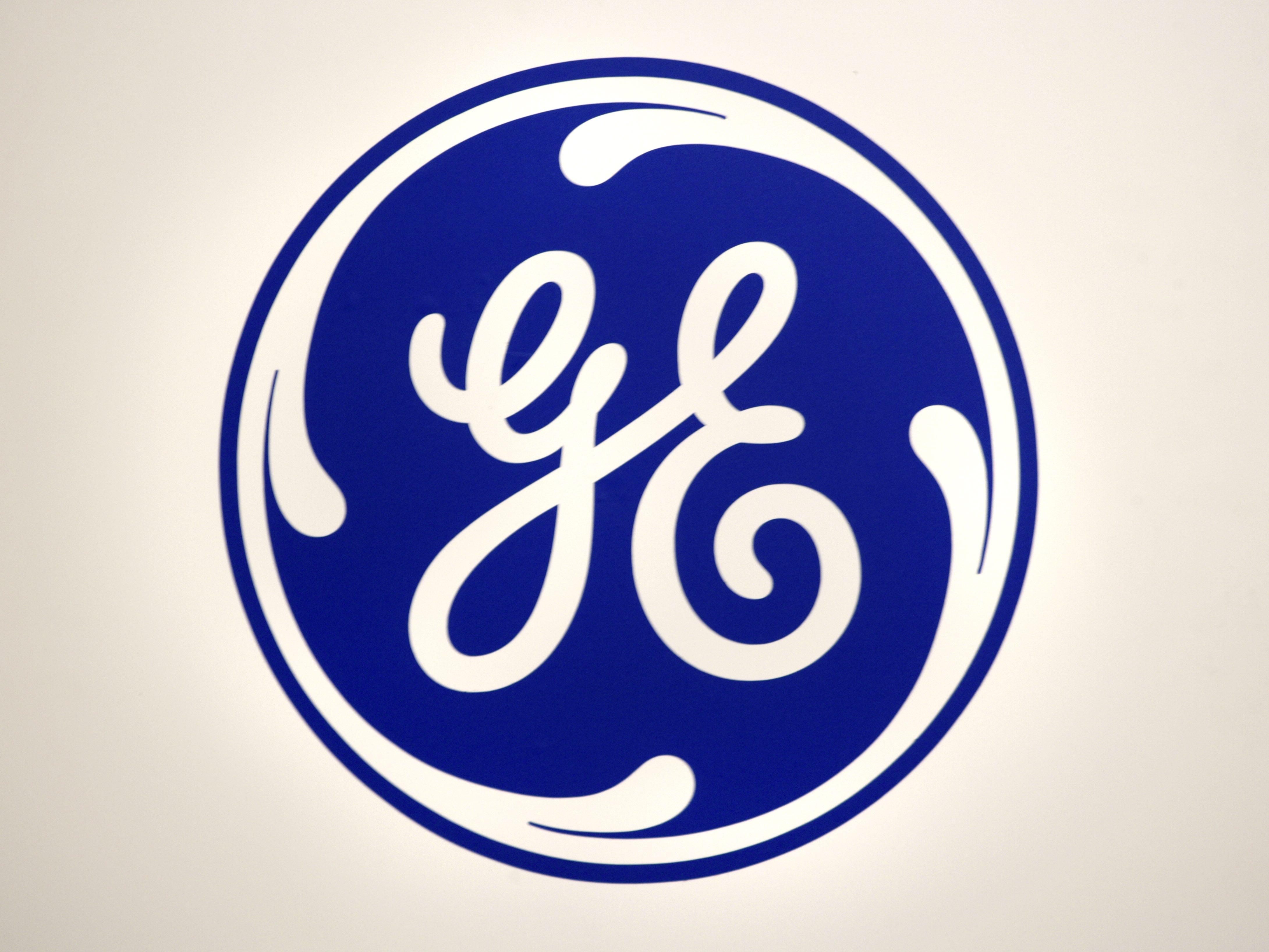Logo of General Electric GE.
