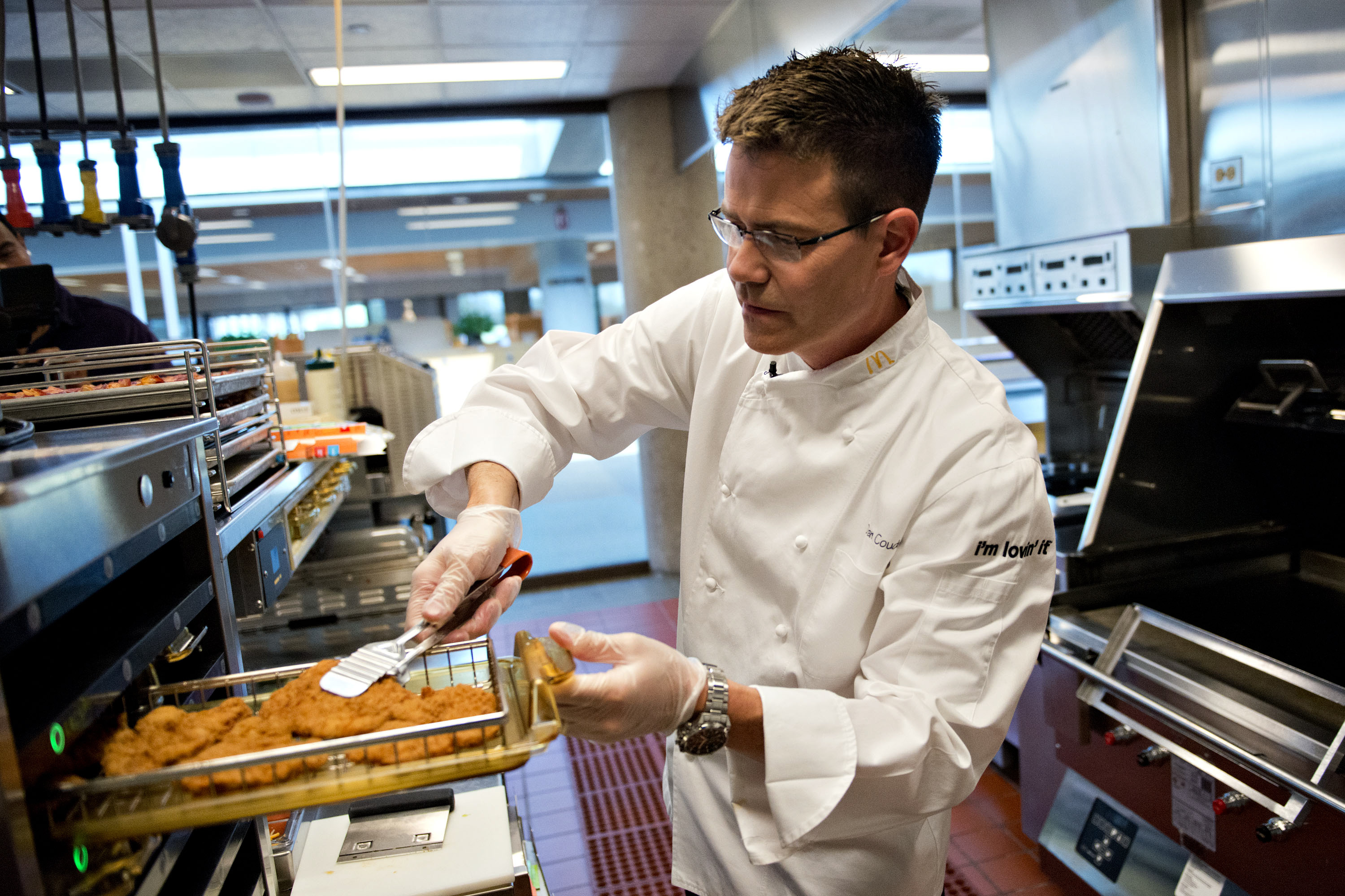 Portraits of McDonald's Corp. Executive Chef And Vice President of Culinary Innovation Don Coudreaut
