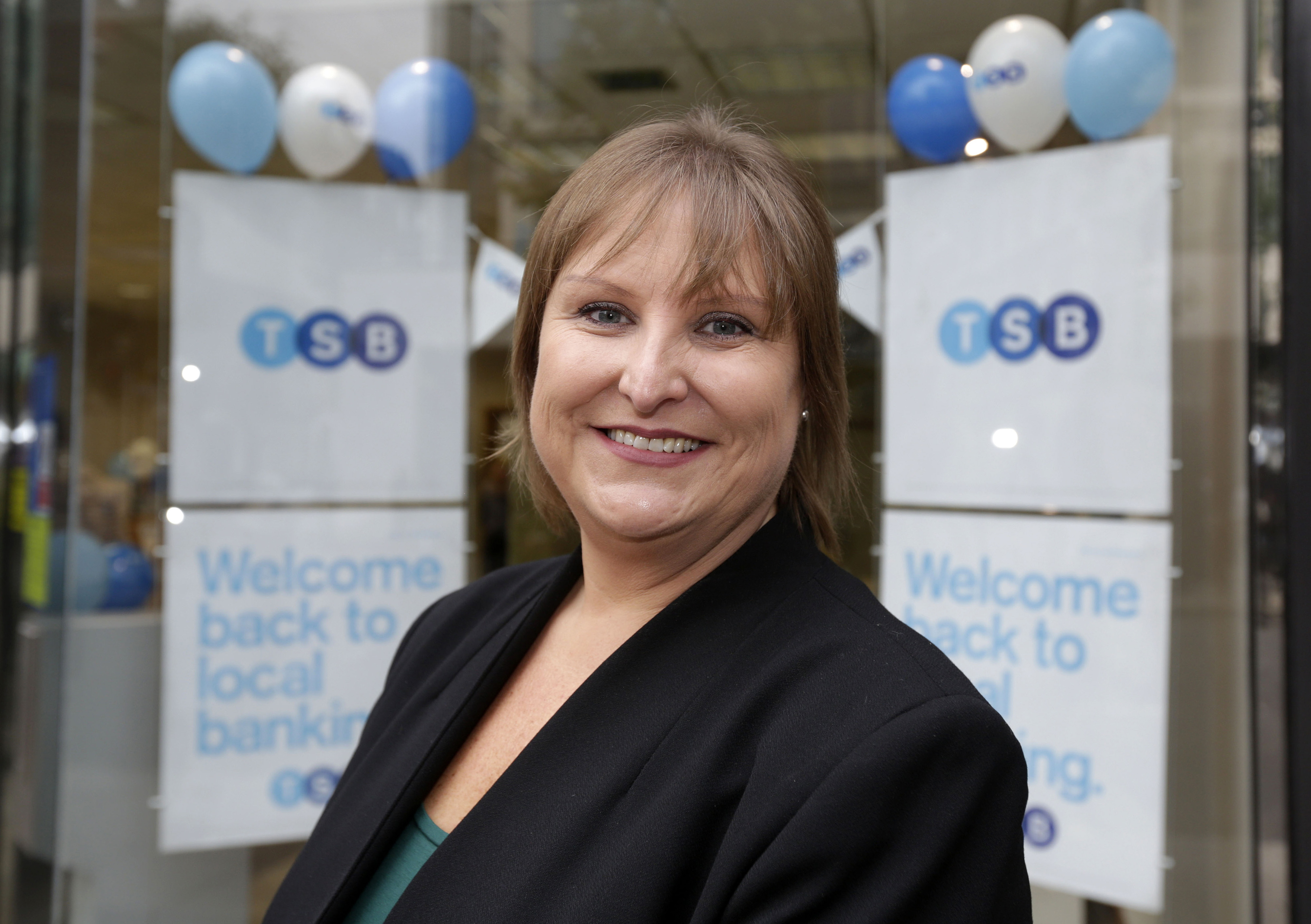 Lloyd's Banking Group Plc Launch The Newly Branded TSB Bank Branches