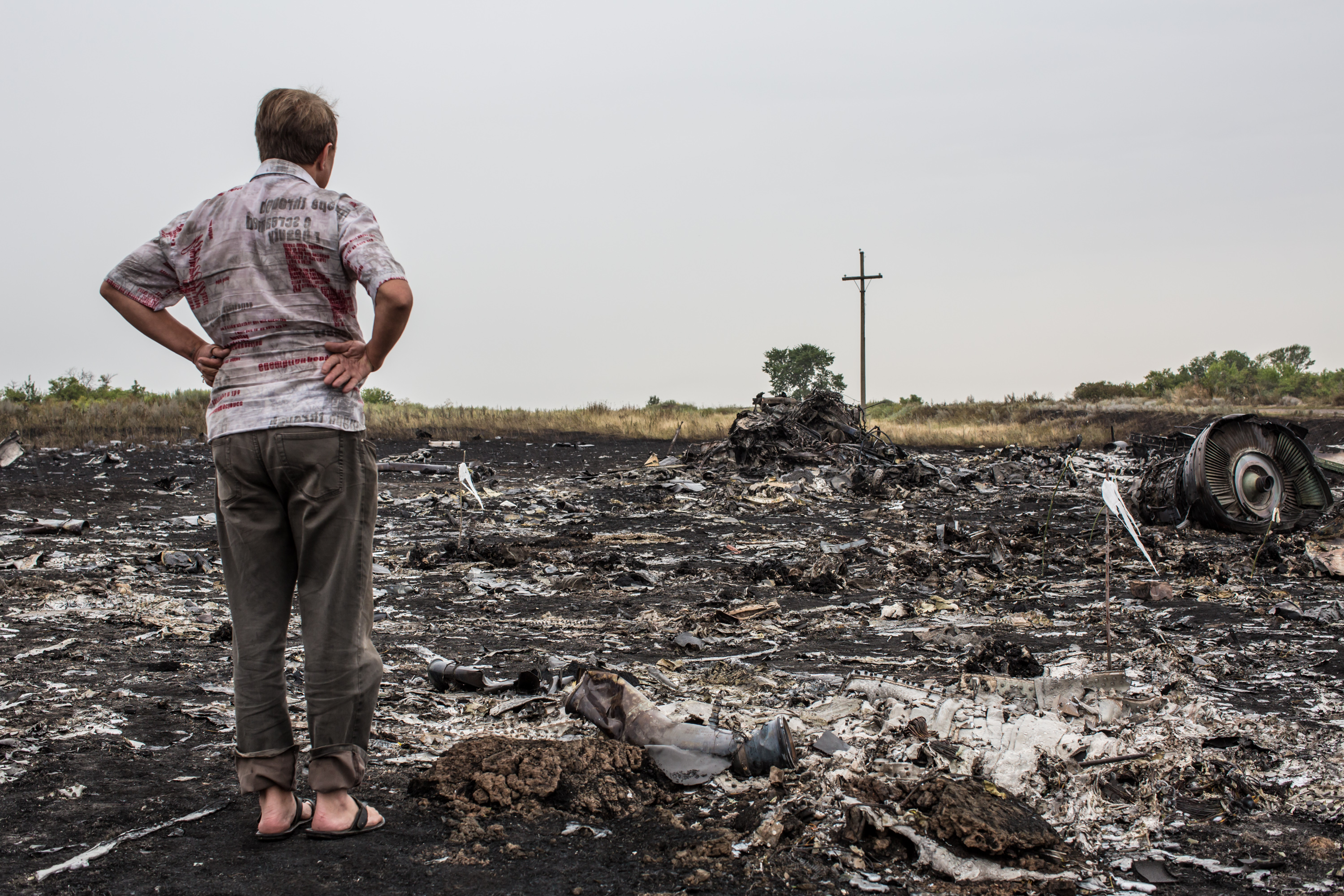 Air Malaysian Passenger Jet Crashes in Eastern Ukraine
