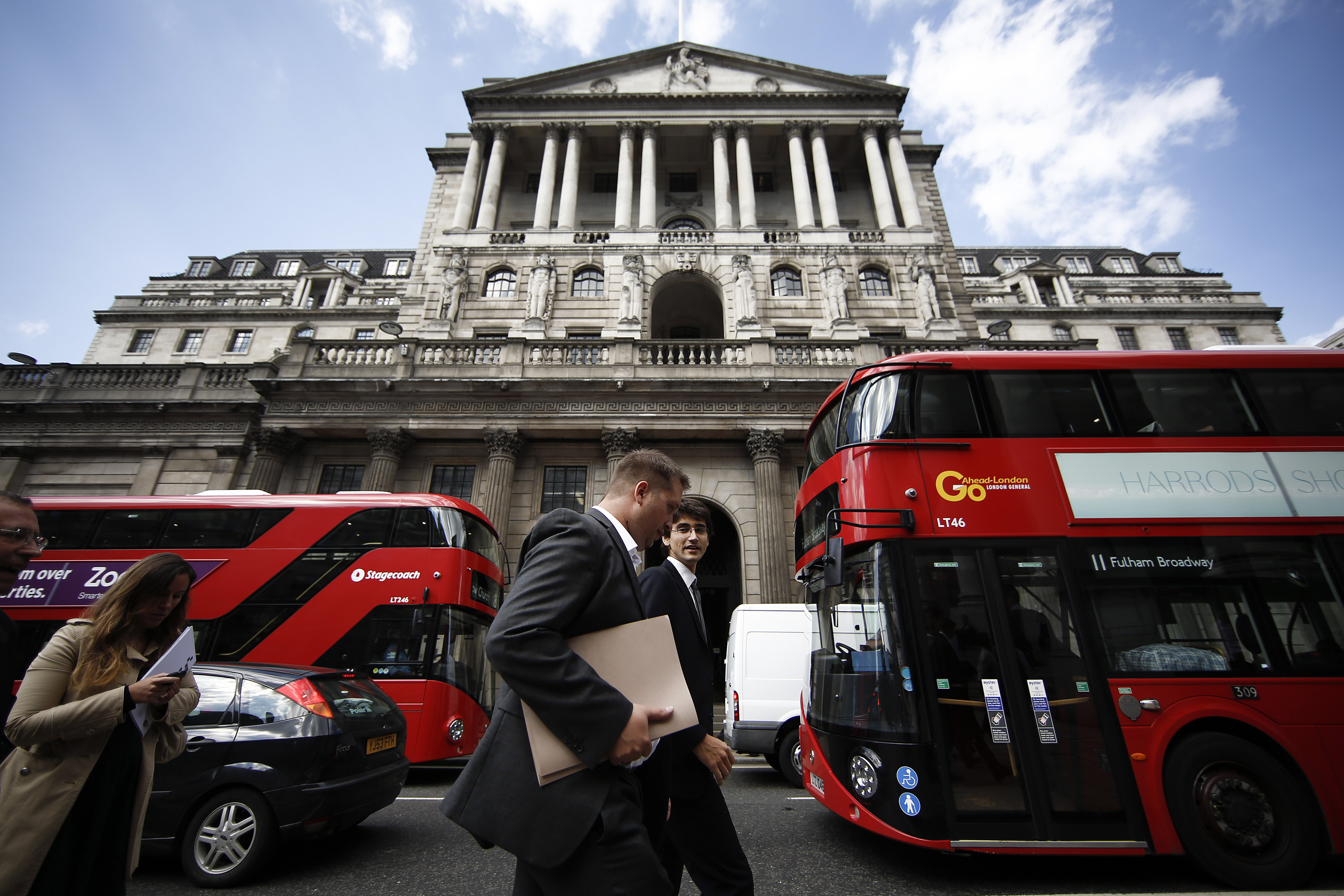 The Bank of England Ahead Of Interest Rate Decision