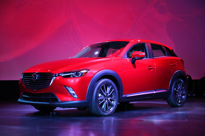Mazda Unveils CX-3