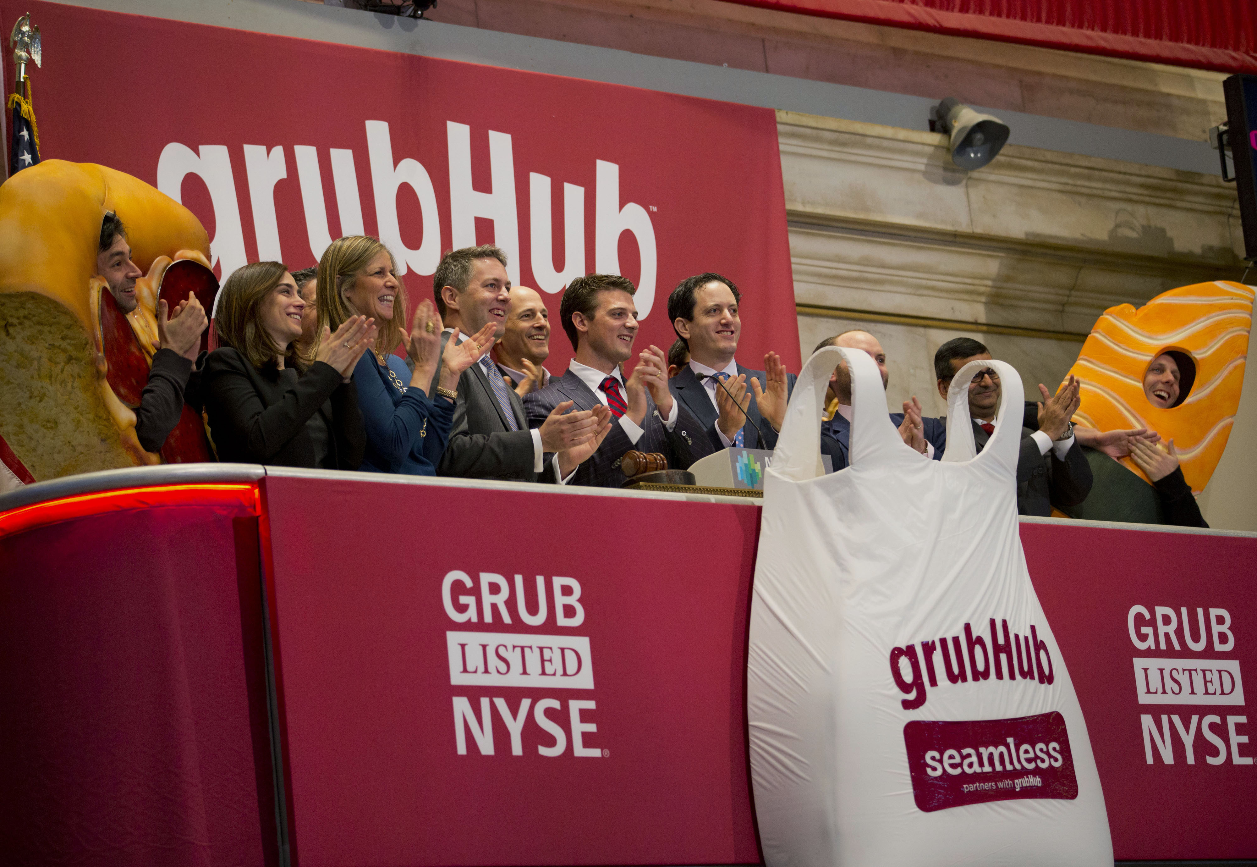GrubHub Raises $192 Million Pricing IPO Above Marketed Range