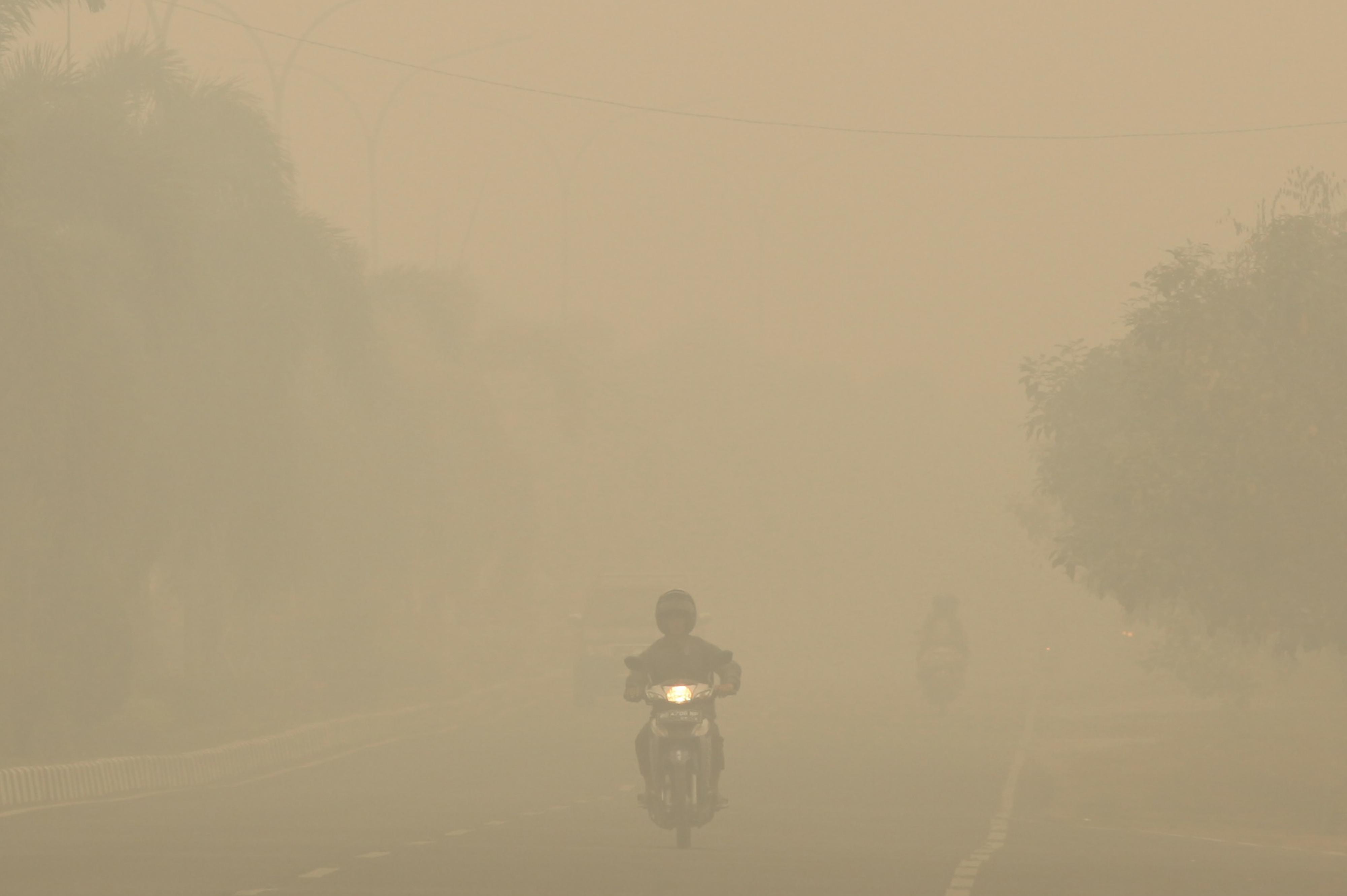 INDONESIA-MALAYSIA-SINGAPORE-ENVIRONMENT-HAZE
