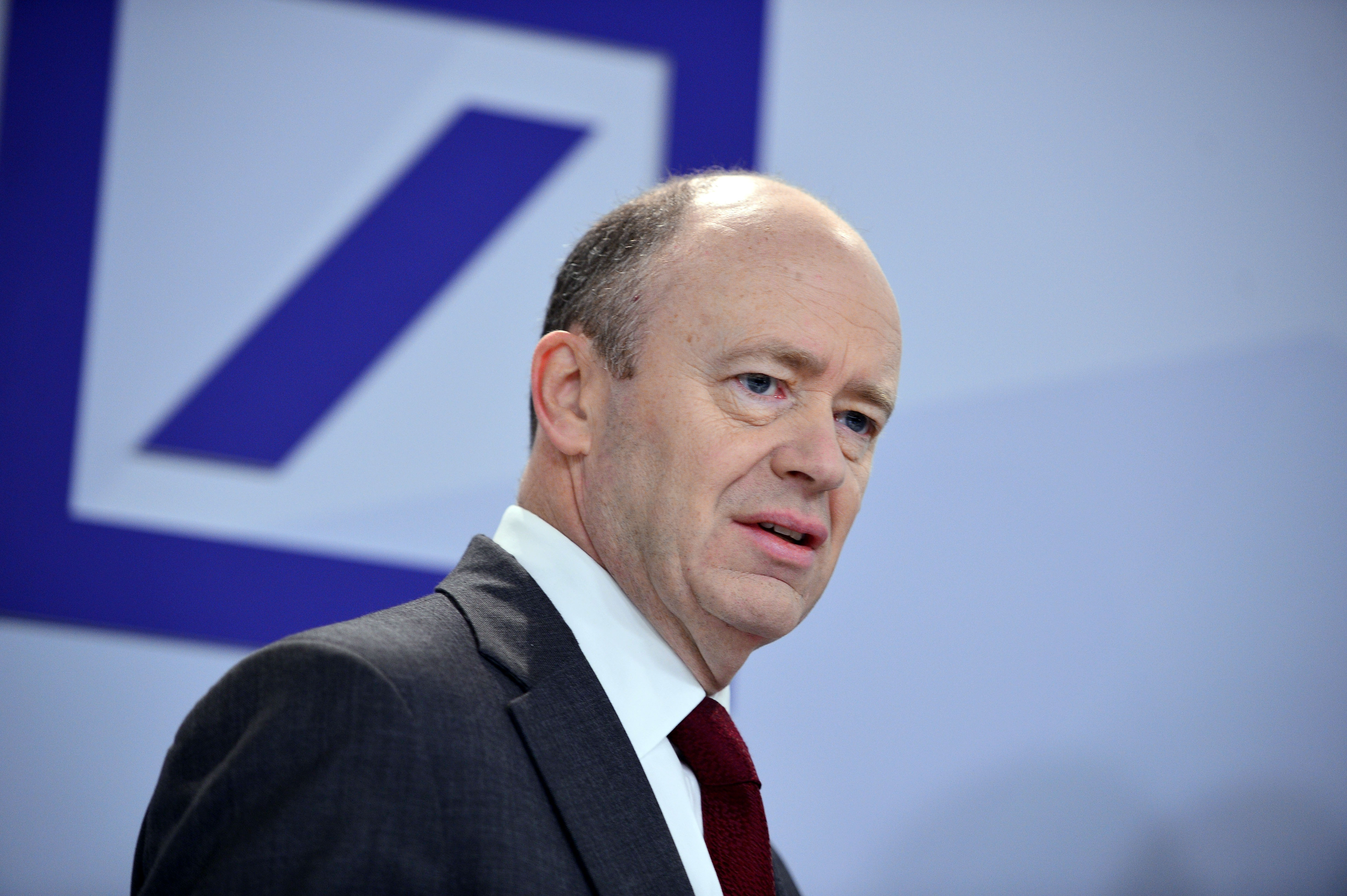 New Deutsche Bank Co-Chairman John Cryan Holds First Press Conference