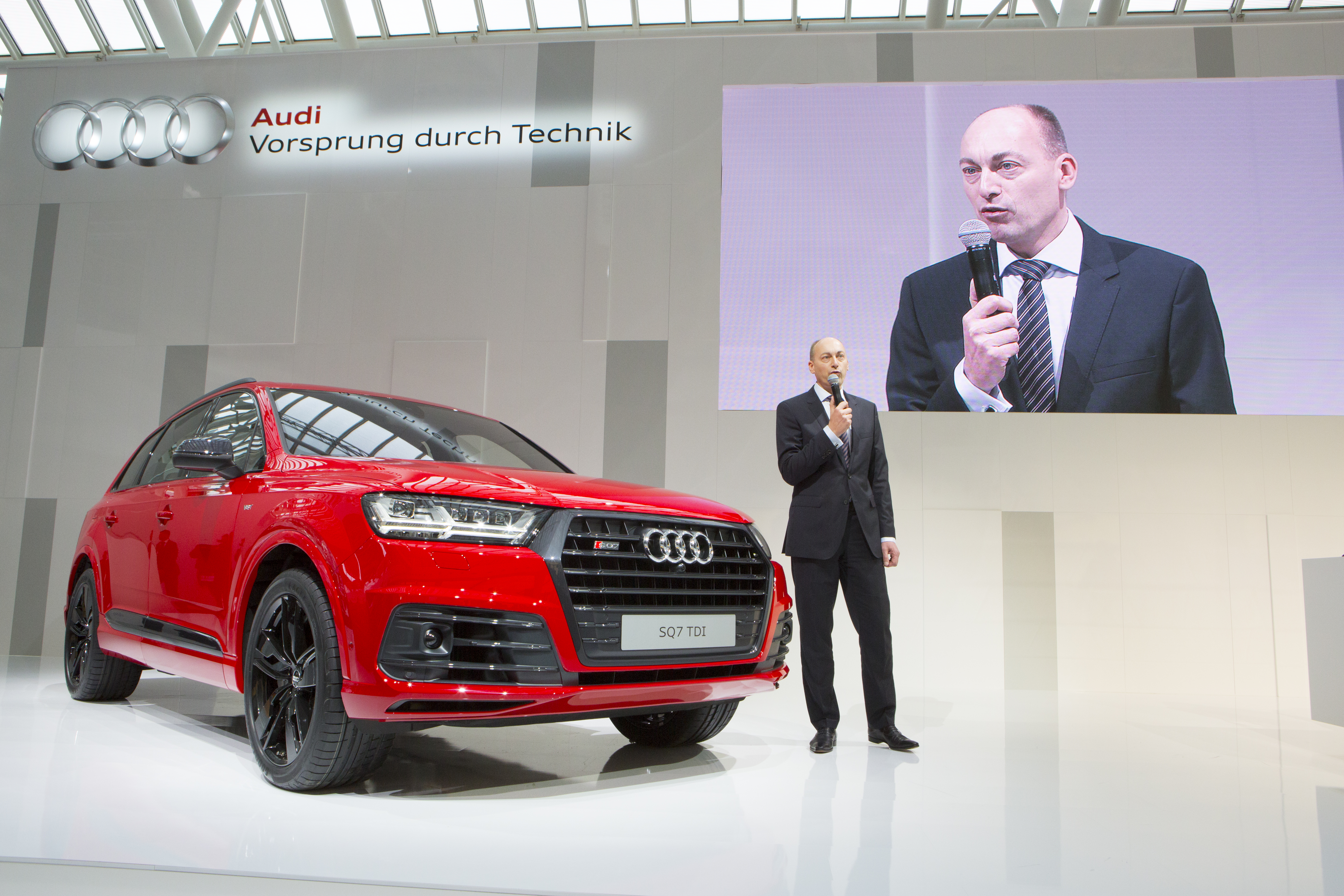 Stefan Knirsch - Annual Press Conference  AUDI AG.
